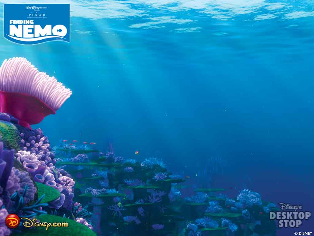 Finding nemo backgrounds wallpaper cave for Wallpaper home animation