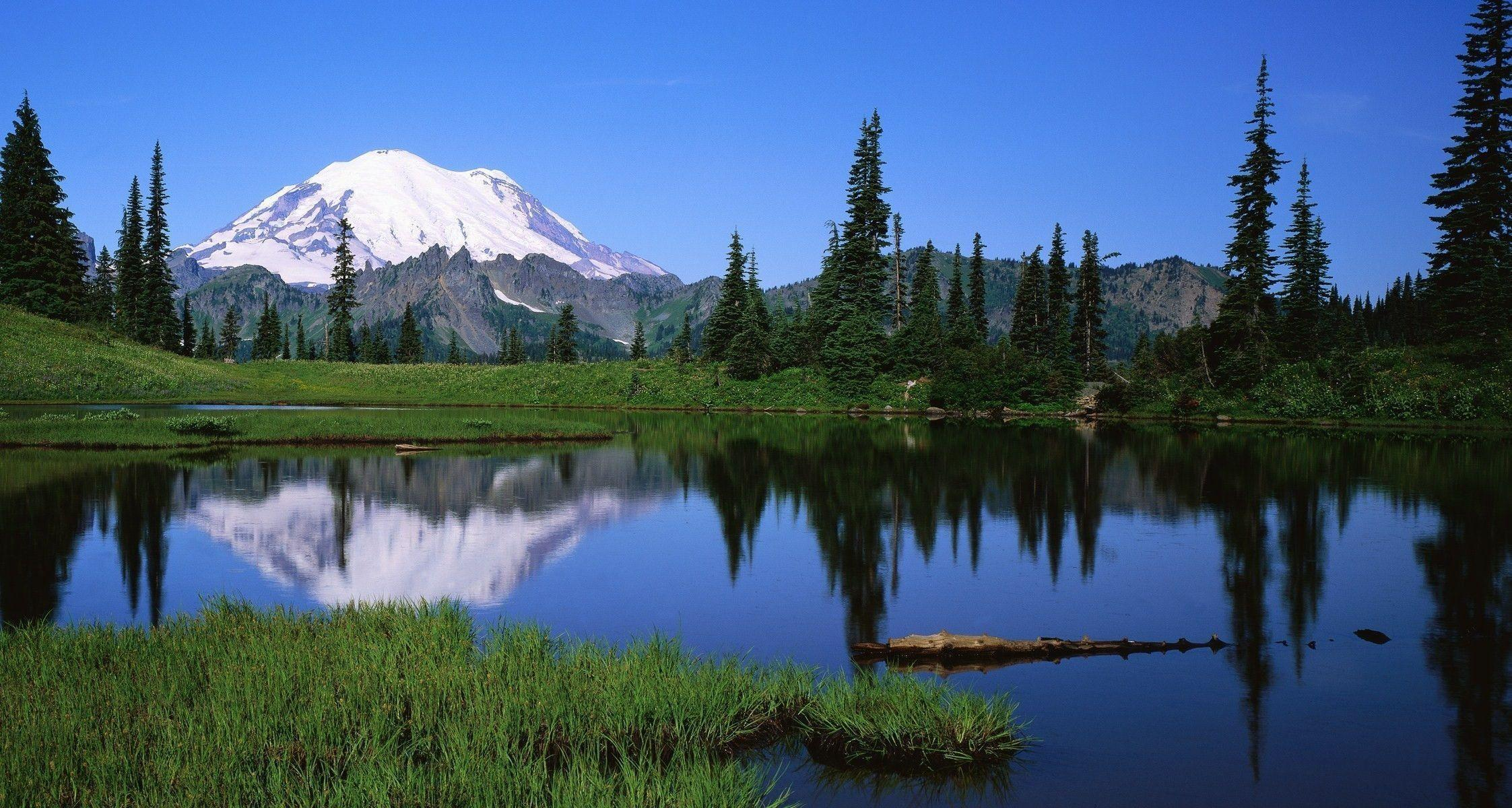 cool reflections in tipsoo lake wallpaper winter nature  28 wallpapers   u2013 art wallpapers