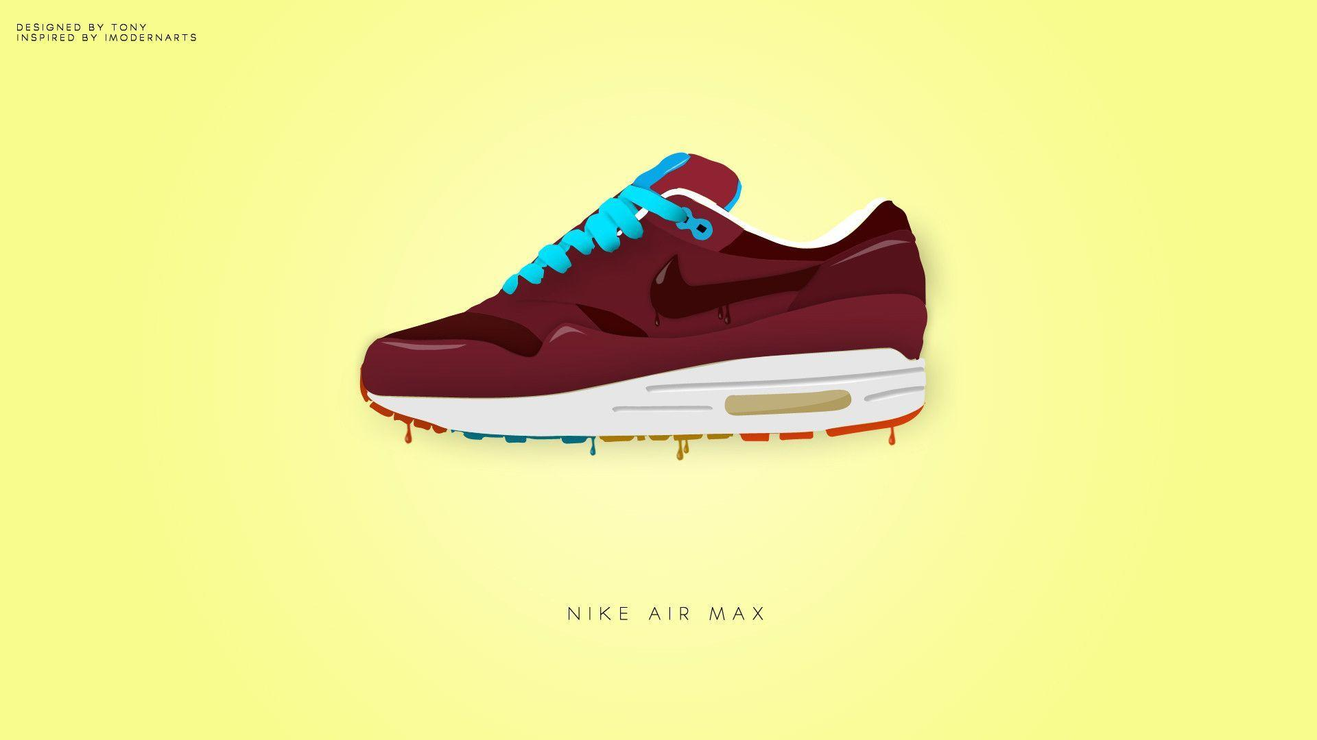 premium selection ad05f ca467 Nike Air Max with Wallpaper 1920x1080   Hot HD Wallpaper
