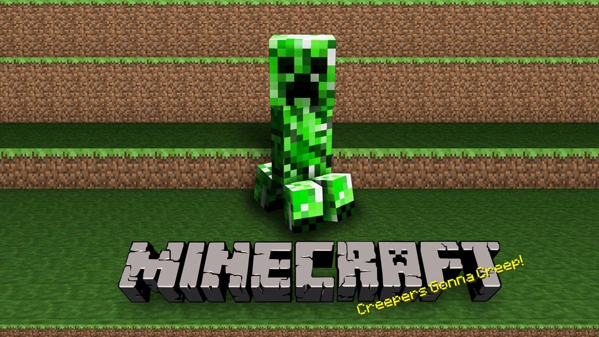 Minecraft Wallpaper - Creepers Gonna Creep - Minecraft Wallpaper