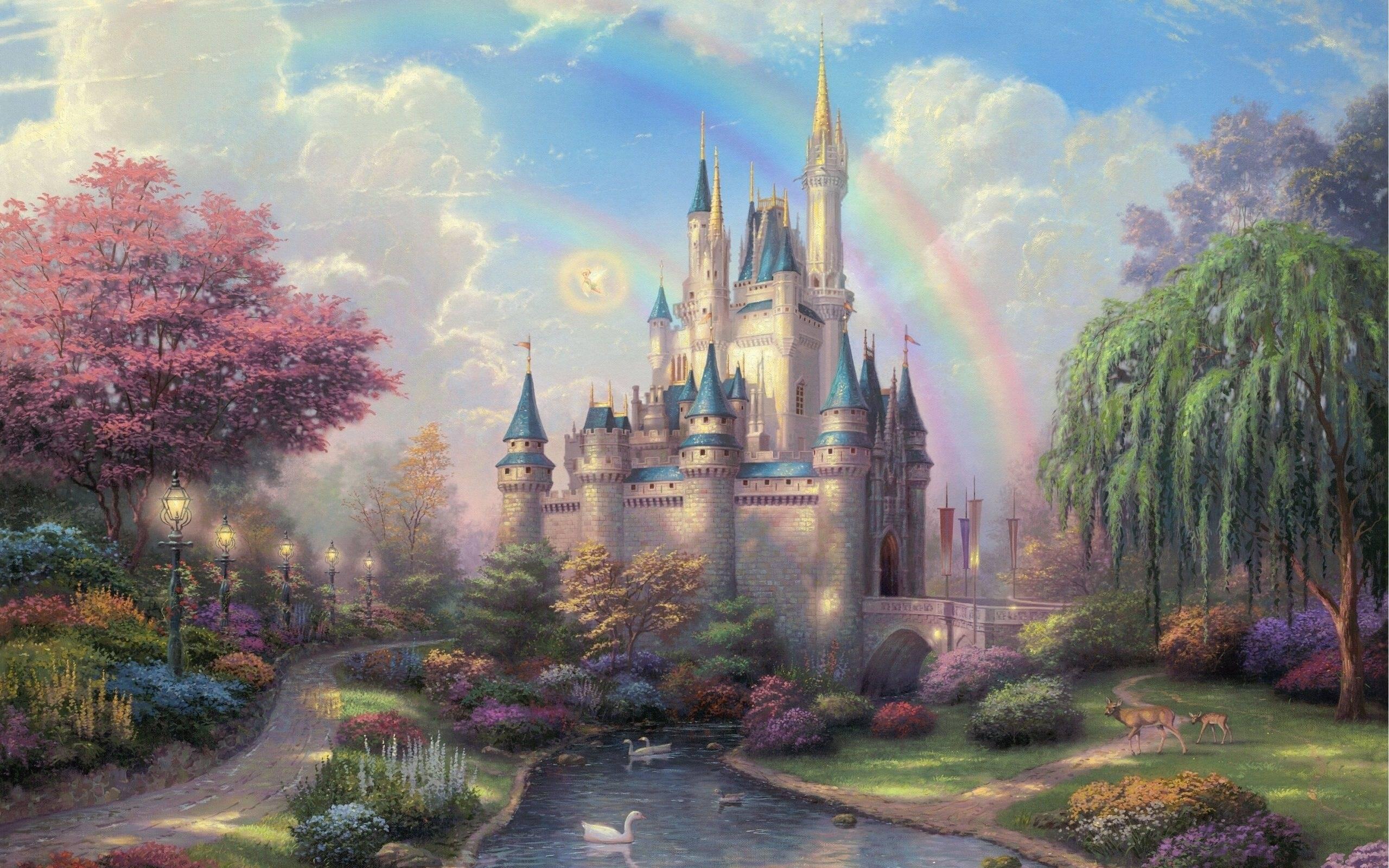 Disney Castle Backgrounds
