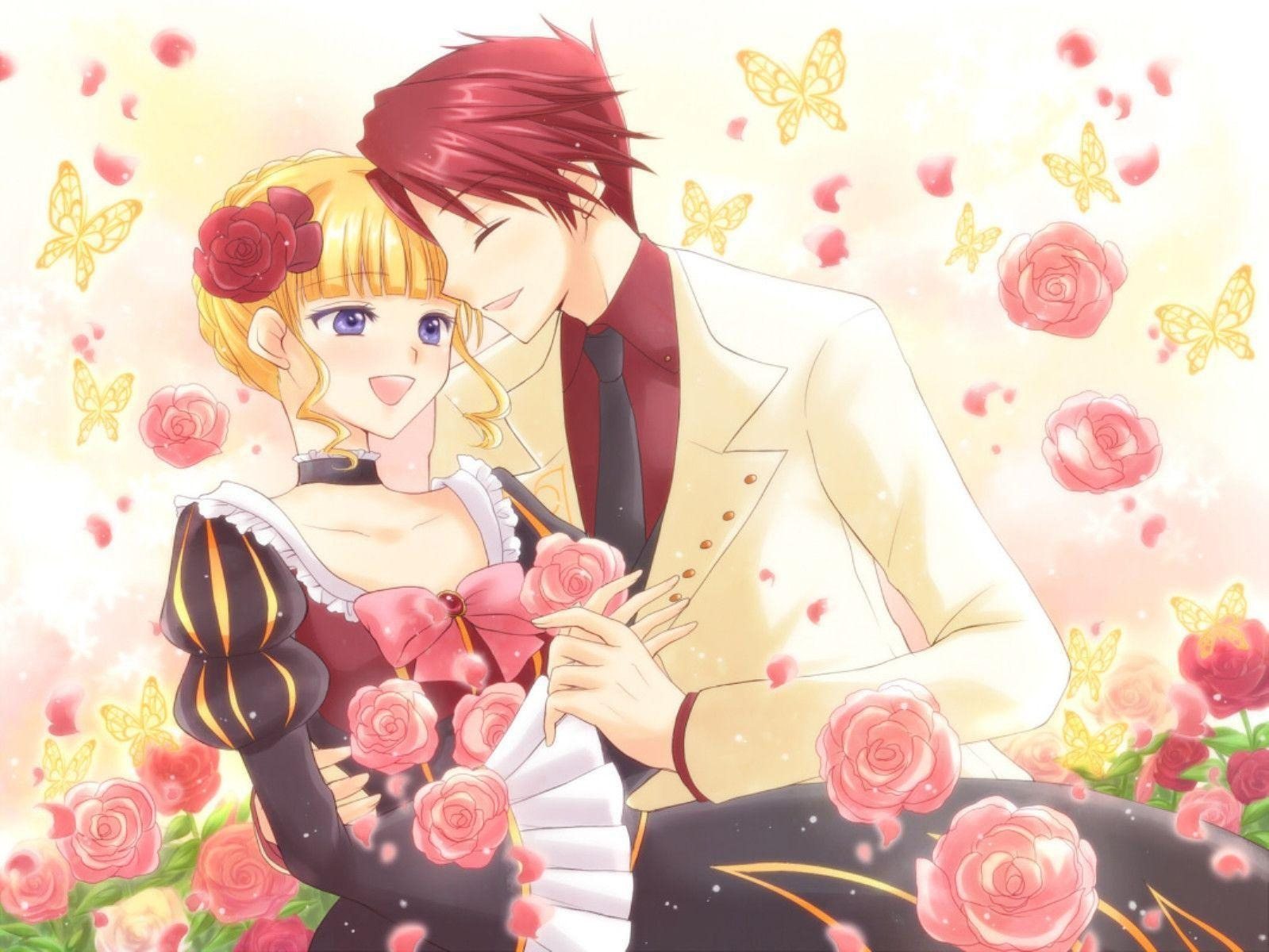 Esinalca Cute Anime Couples Wallpaper: Cute Anime Couple Wallpapers