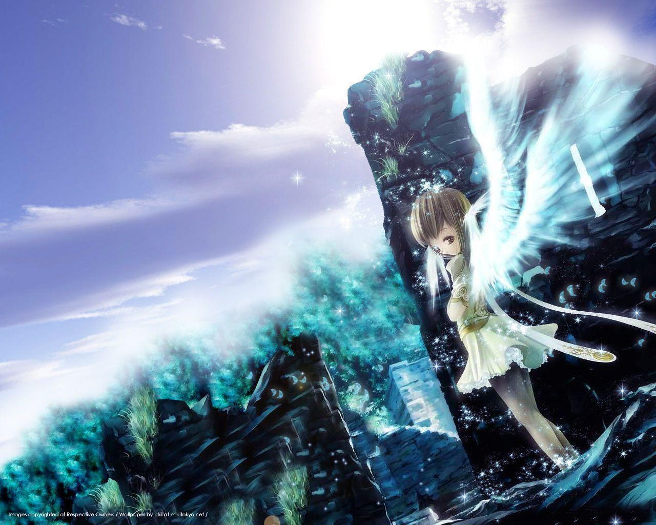 cute anime angel wallpaper - photo #15