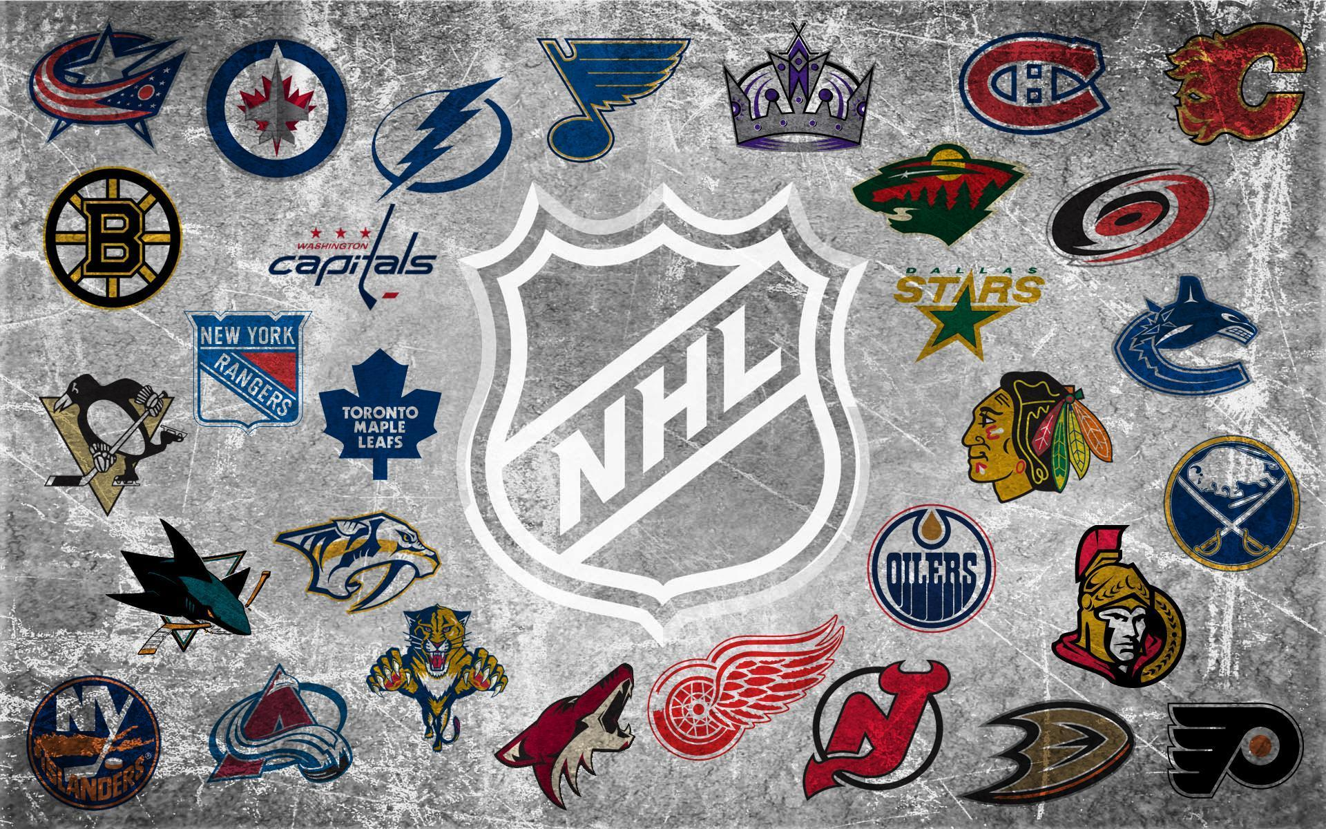 Nhl logo wallpapers wallpaper cave - Nhl hockey wallpapers ...