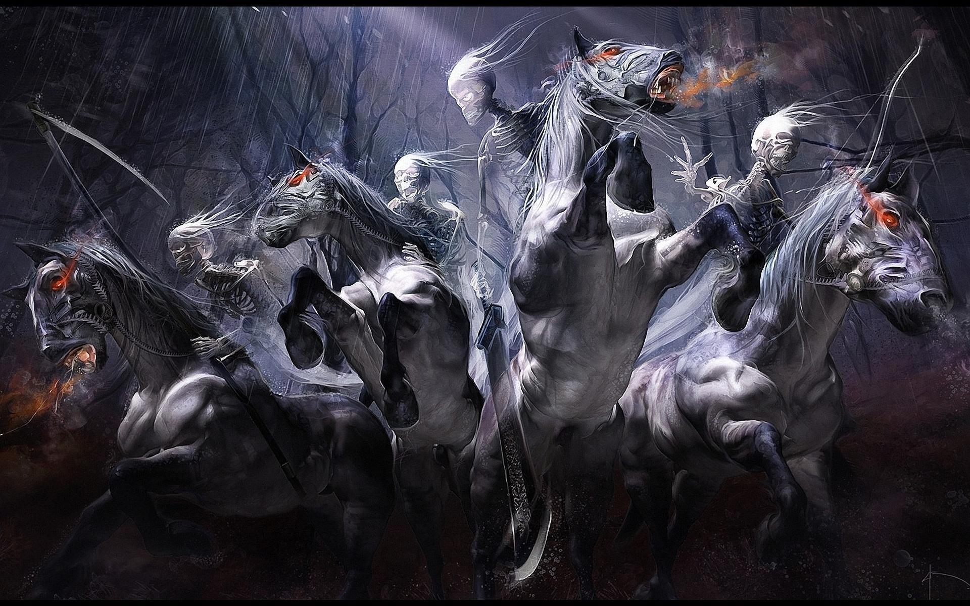 The Four Horsemen Of The Apocalypse Wallpapers Wallpaper Cave