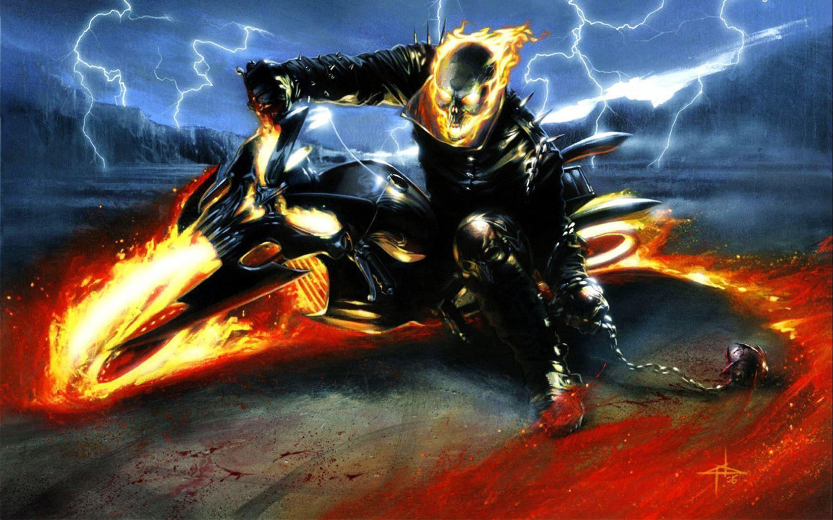 Ghost Rider Wallpapers 1080 by SKstalker