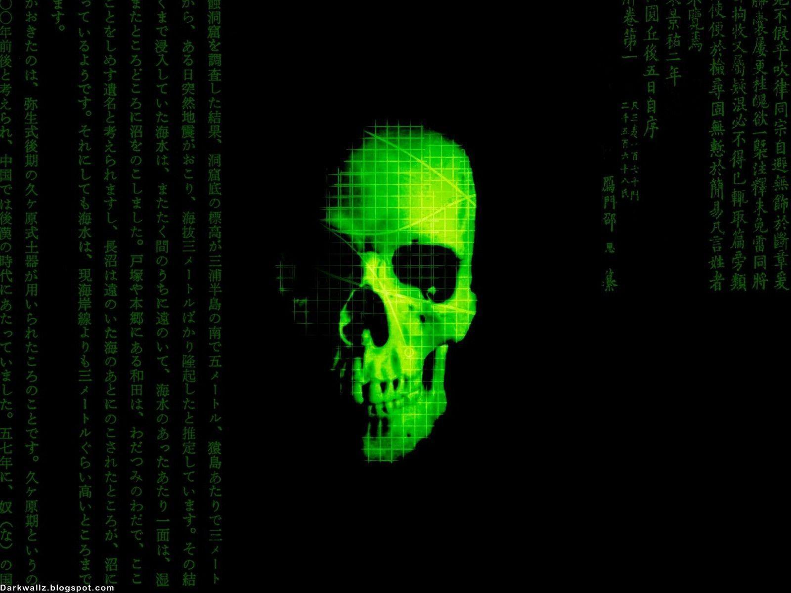wallpapers skull desktop - photo #11
