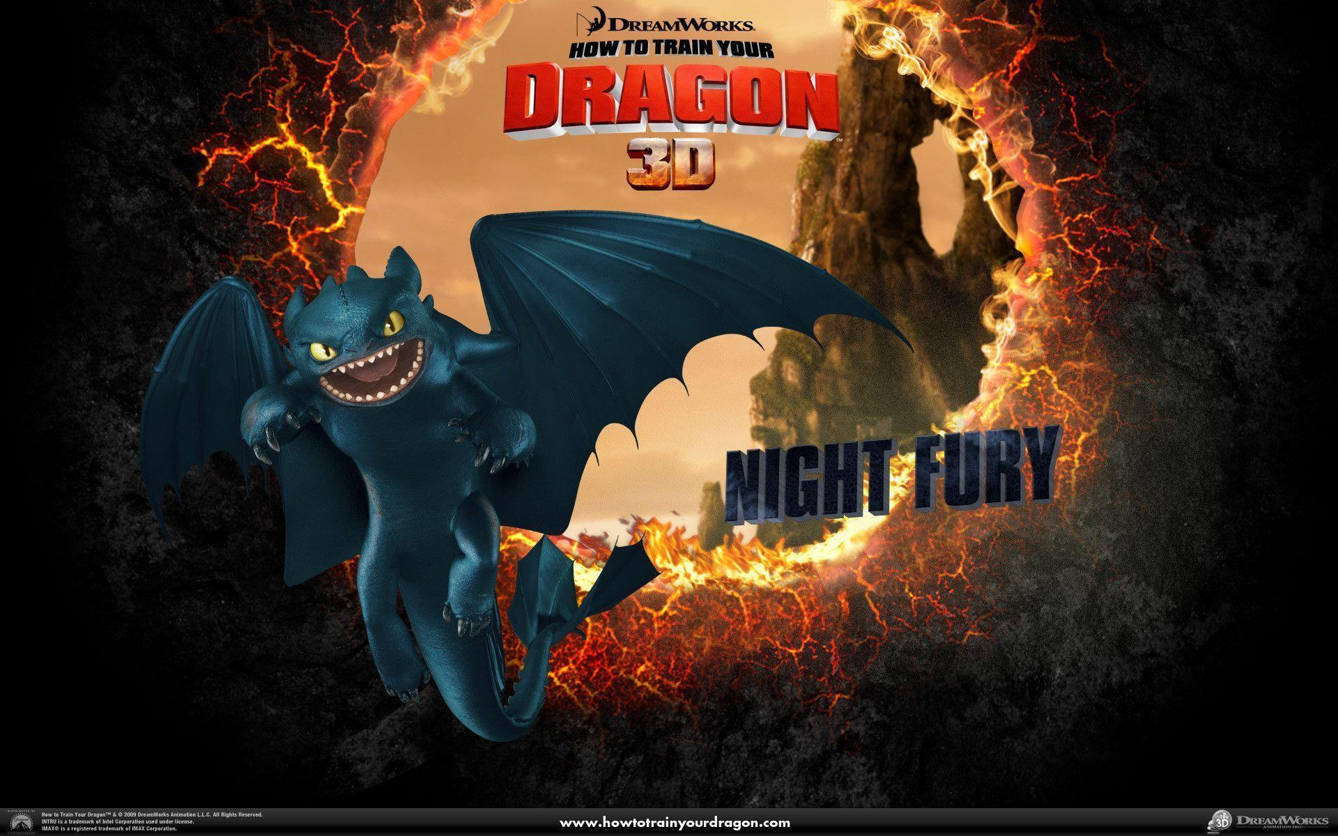 Night Fury Wallpaper - Toothless the Dragon Wallpaper (11838873 ...