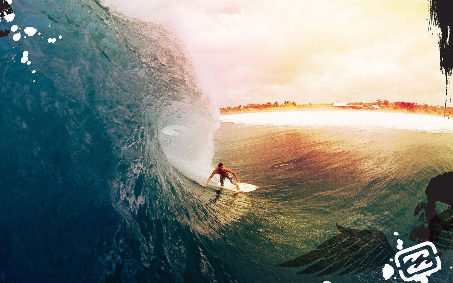サーフィン ビーチ海 ハワイ 南国風 夏 テーマ Pcデスクトップ