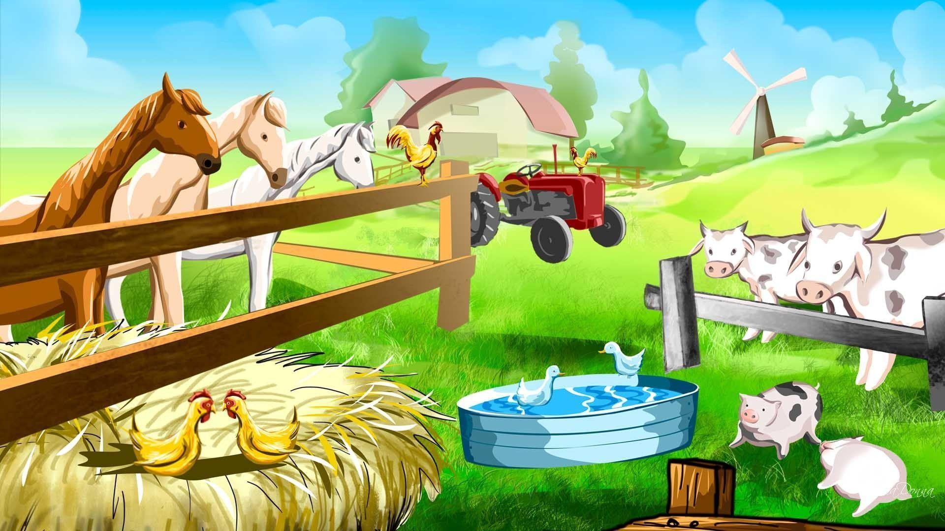 Farm Animals Wallpapers