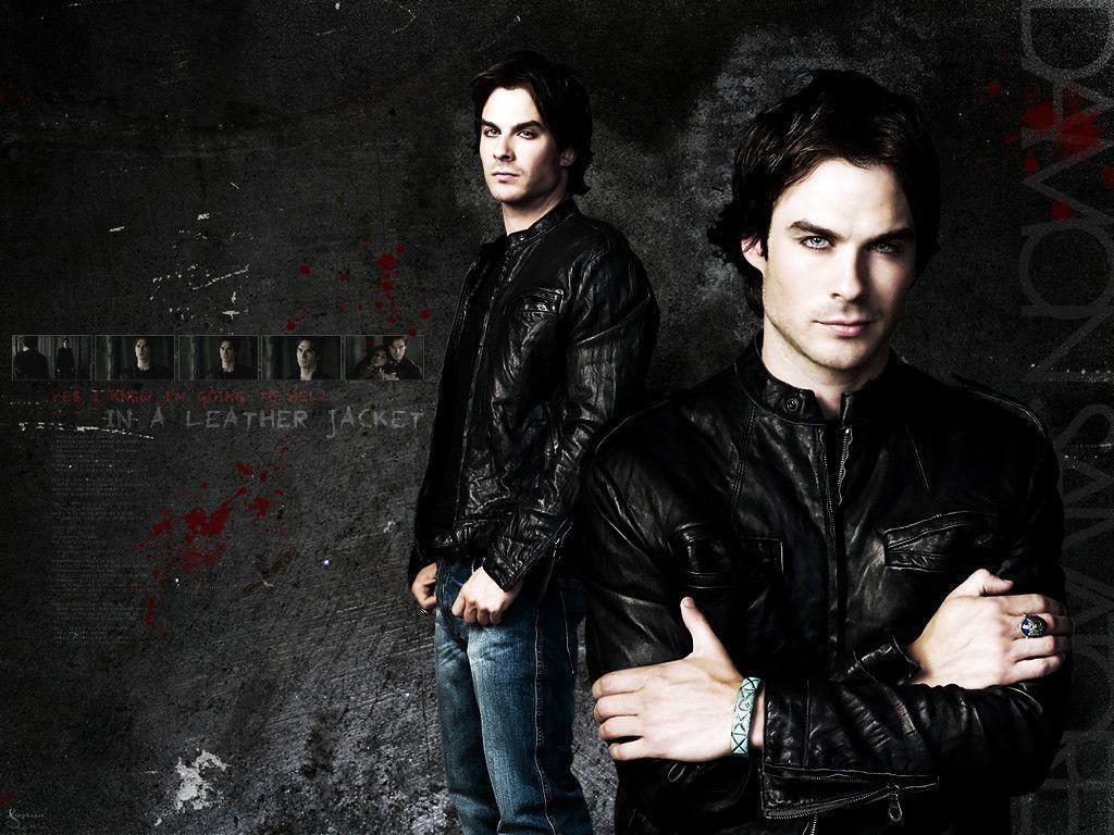 The Vampire Diaries Wallpapers Damon Wallpaper Cave