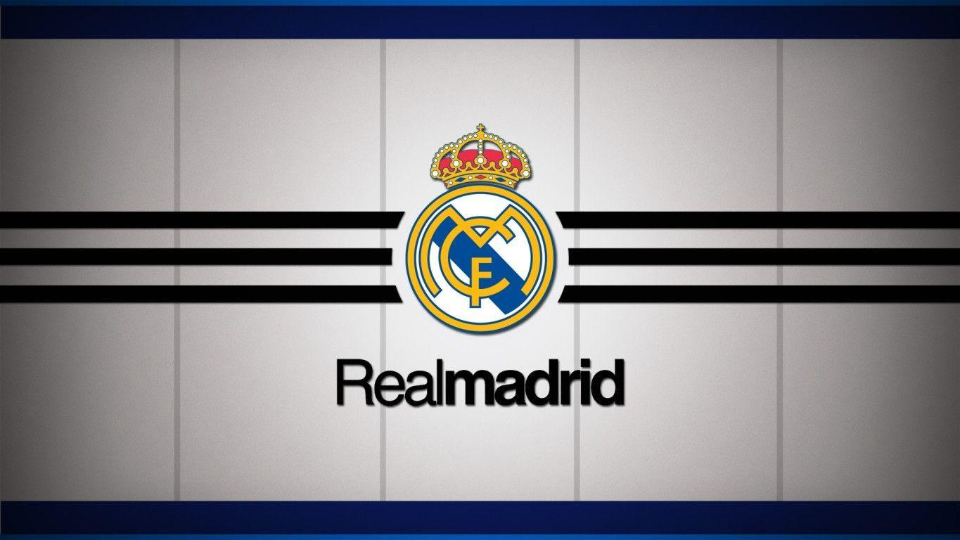 Real Madrid Los Blancos Logo Football HD Wallp #5397 Wallpaper ...