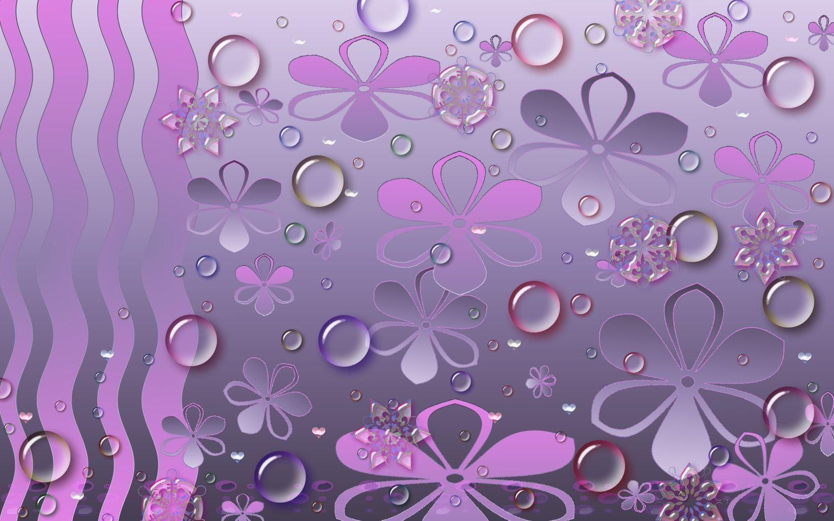 Girly Purple Iphone Wallpaper