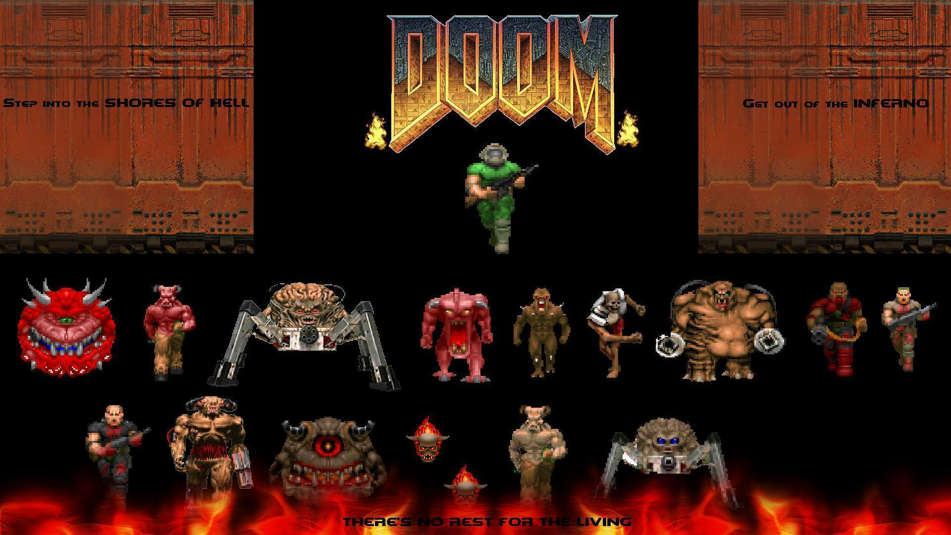 doom wallpapers wallpaper cave