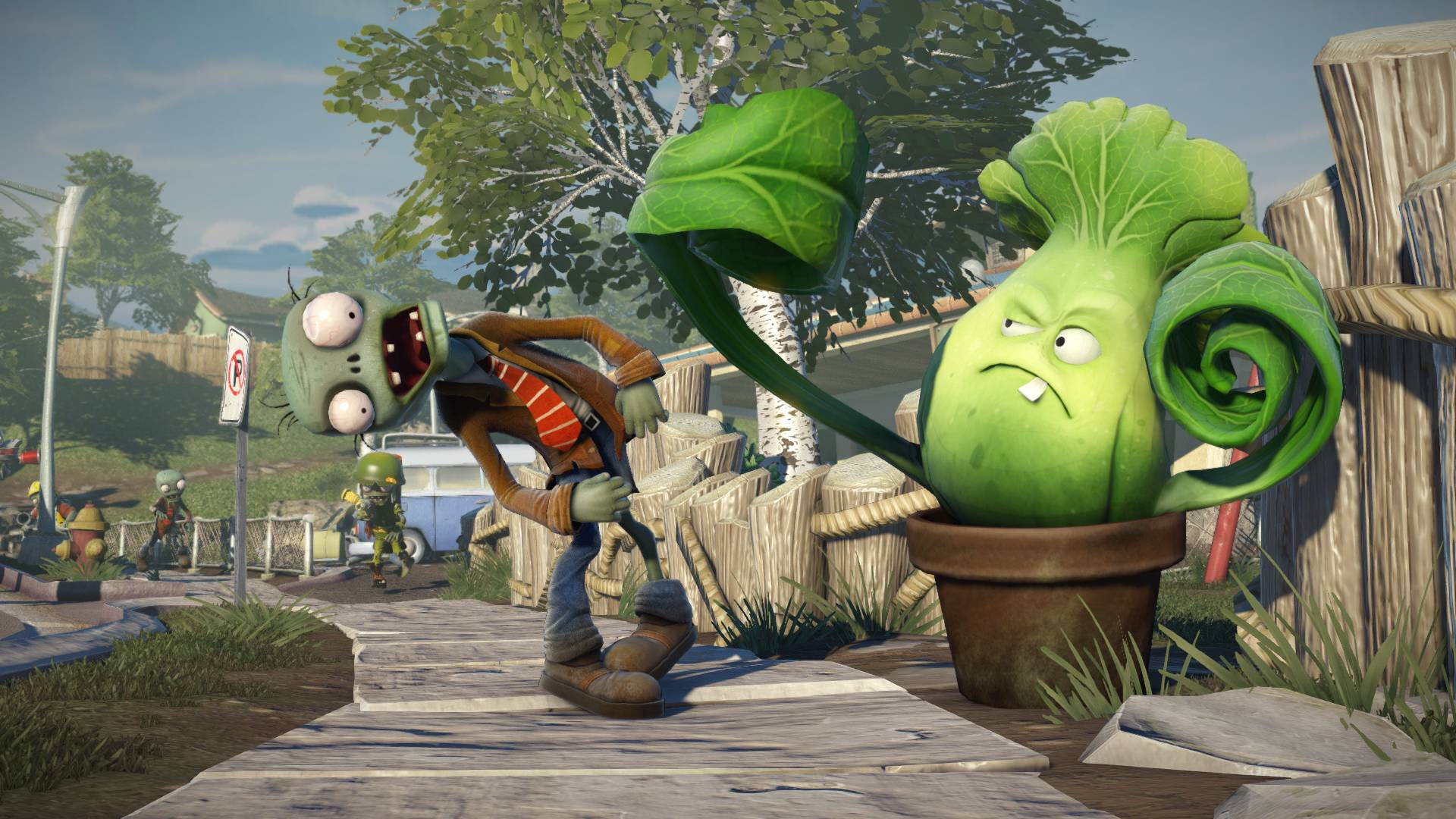 Images For > Plants Vs Zombies Garden Warfare Wallpaper