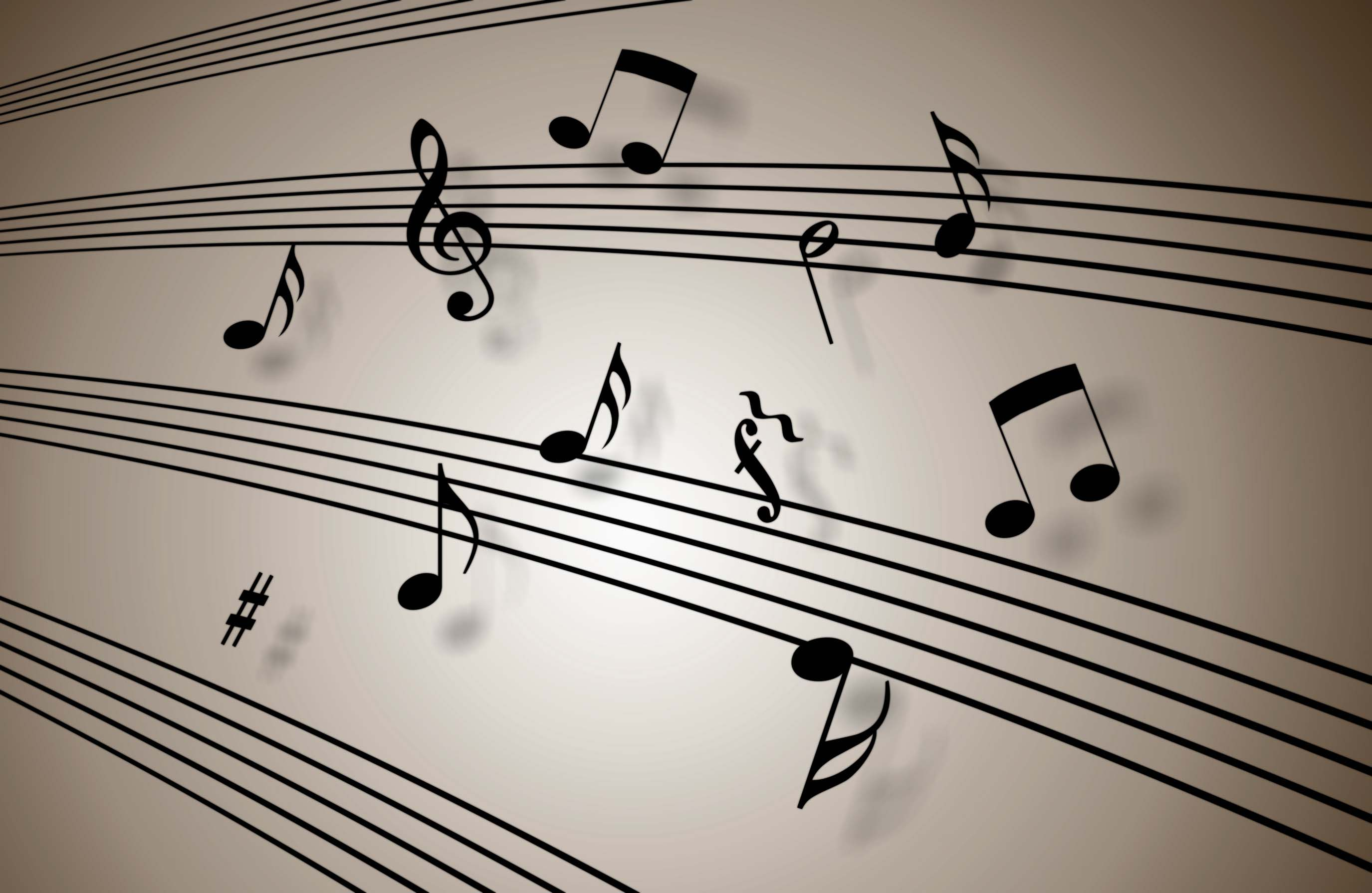 Free Music Notes Wallpapers 16210 2750x1790 px ~ HDWallSource