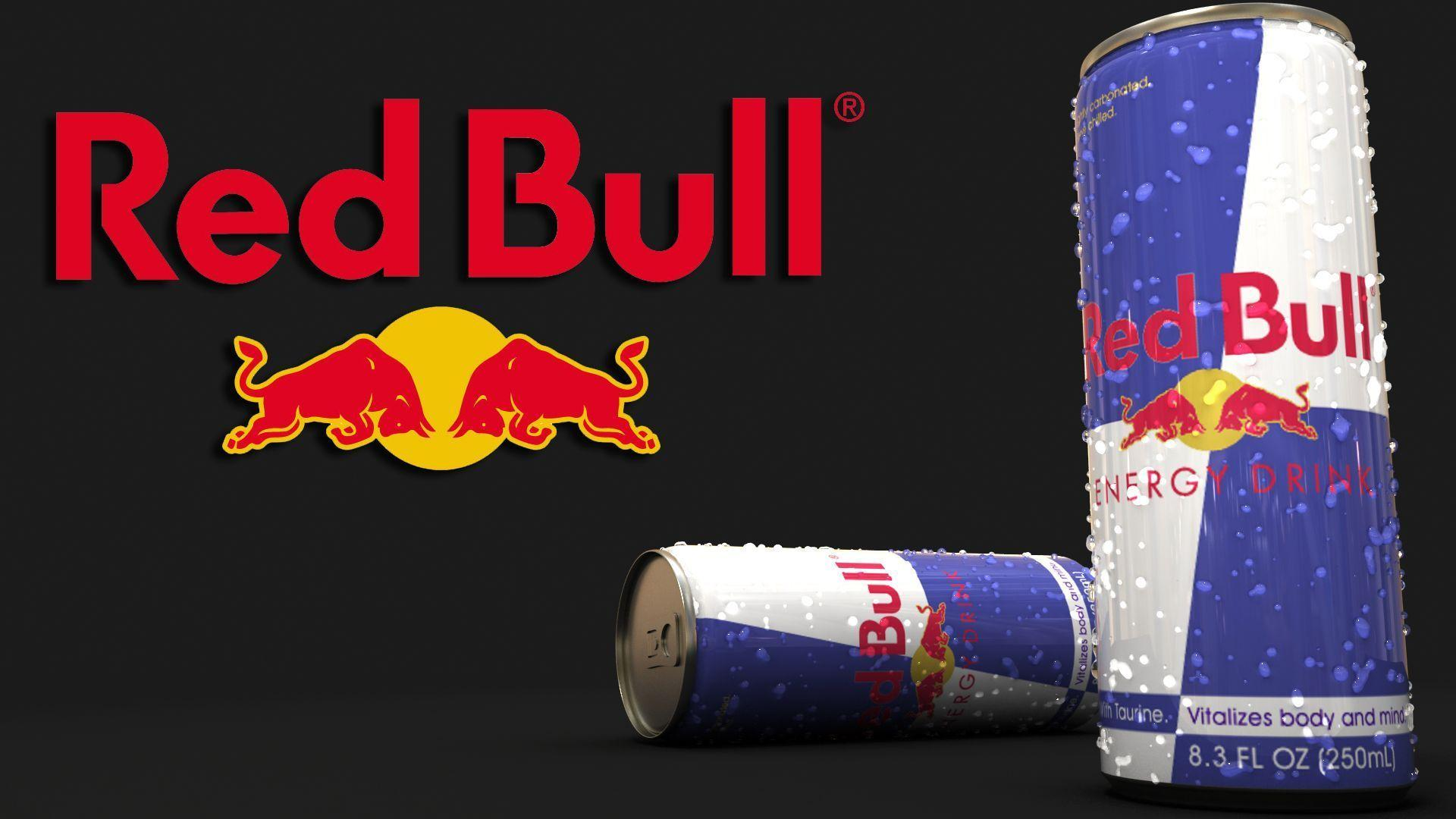 Red Bull Energy Drink Can in Logos