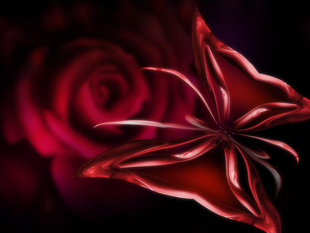red butterfly wallpapers - photo #4