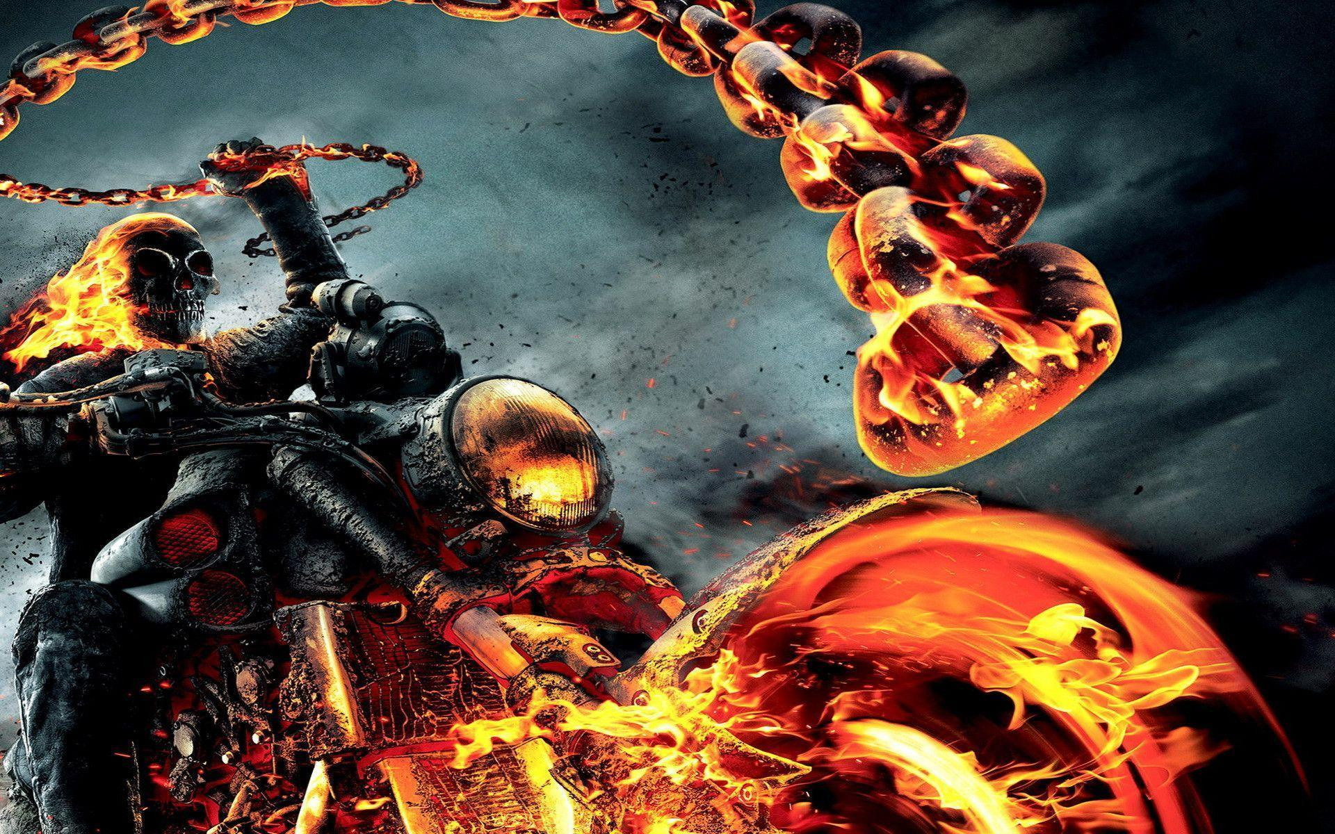 ghost rider wallpaper bike - photo #15