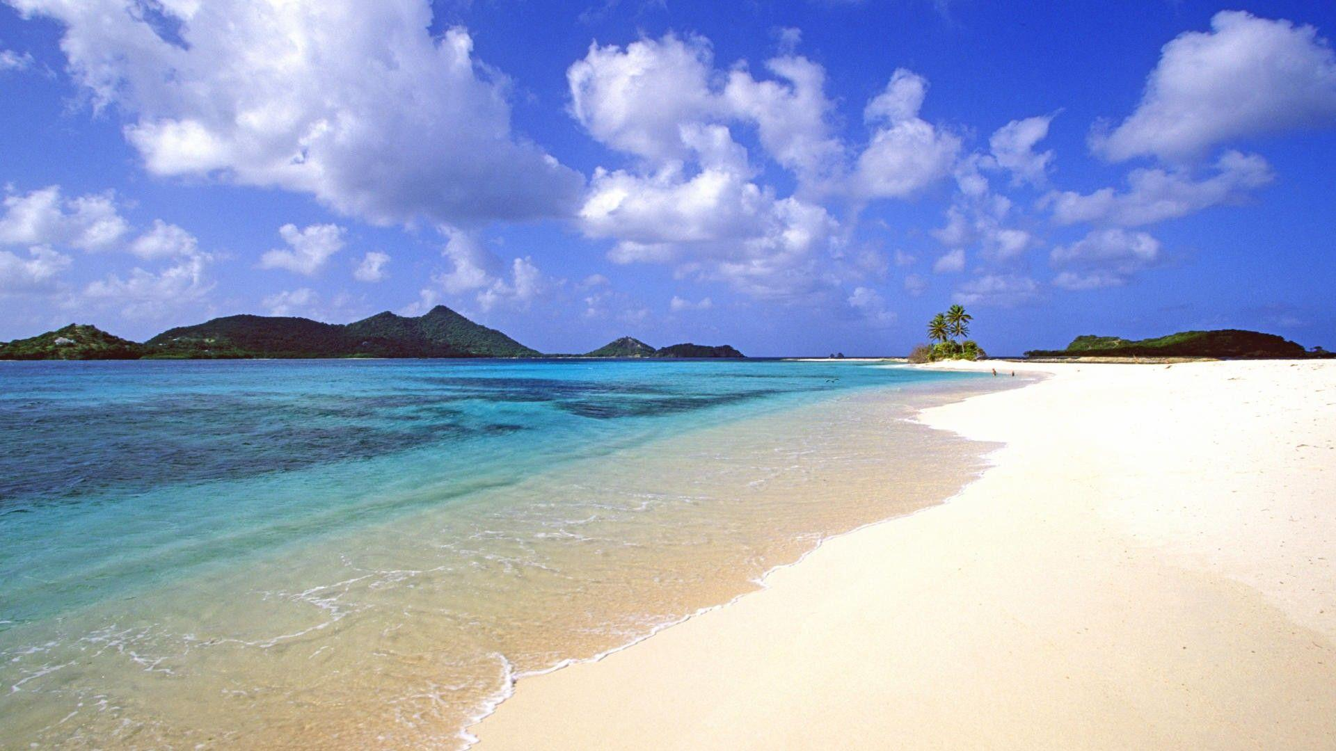 HD Calm Exotic Beach Wallpaper | Download Free - 54796