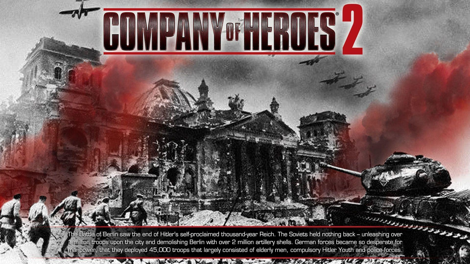 Company Of Heroes 2 Wallpapers Wallpaper Cave
