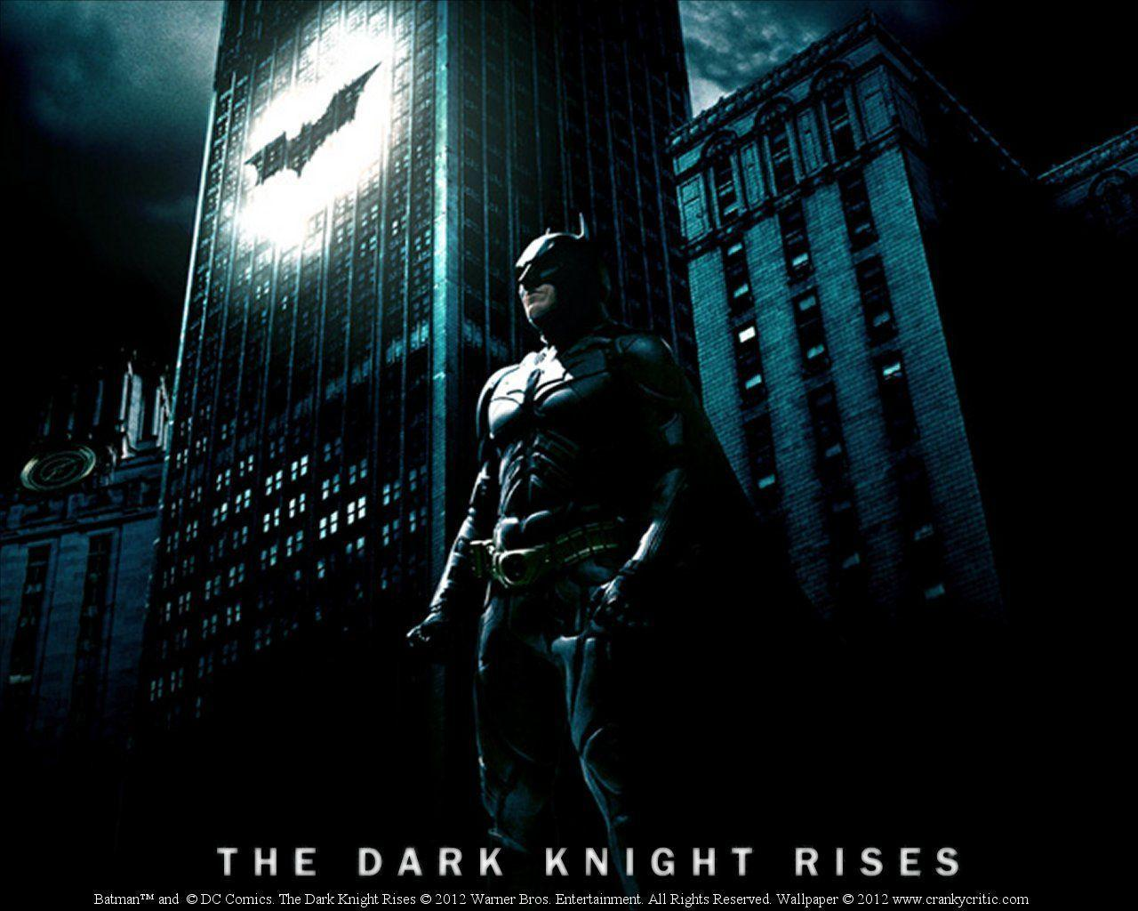 Batman - Dark Knight Rises wallpaper: Cranky Critic® Movie ...