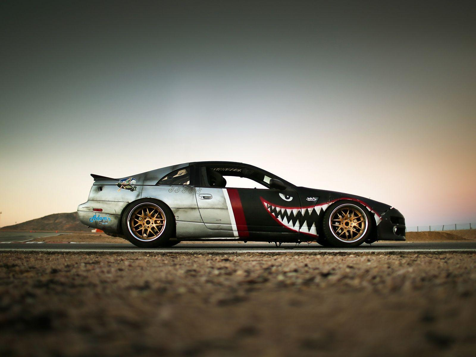 1600x1200 Nissan 300z z32 drift car Wallpaper