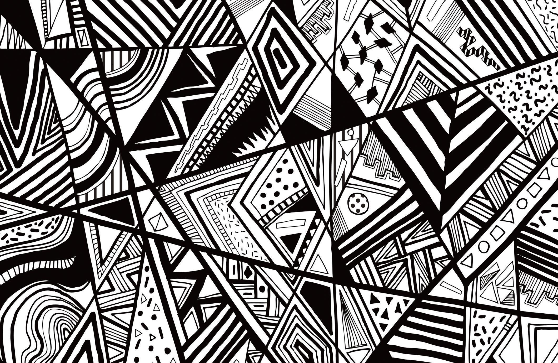 Line Art Resolution : Black and white abstract backgrounds wallpaper cave