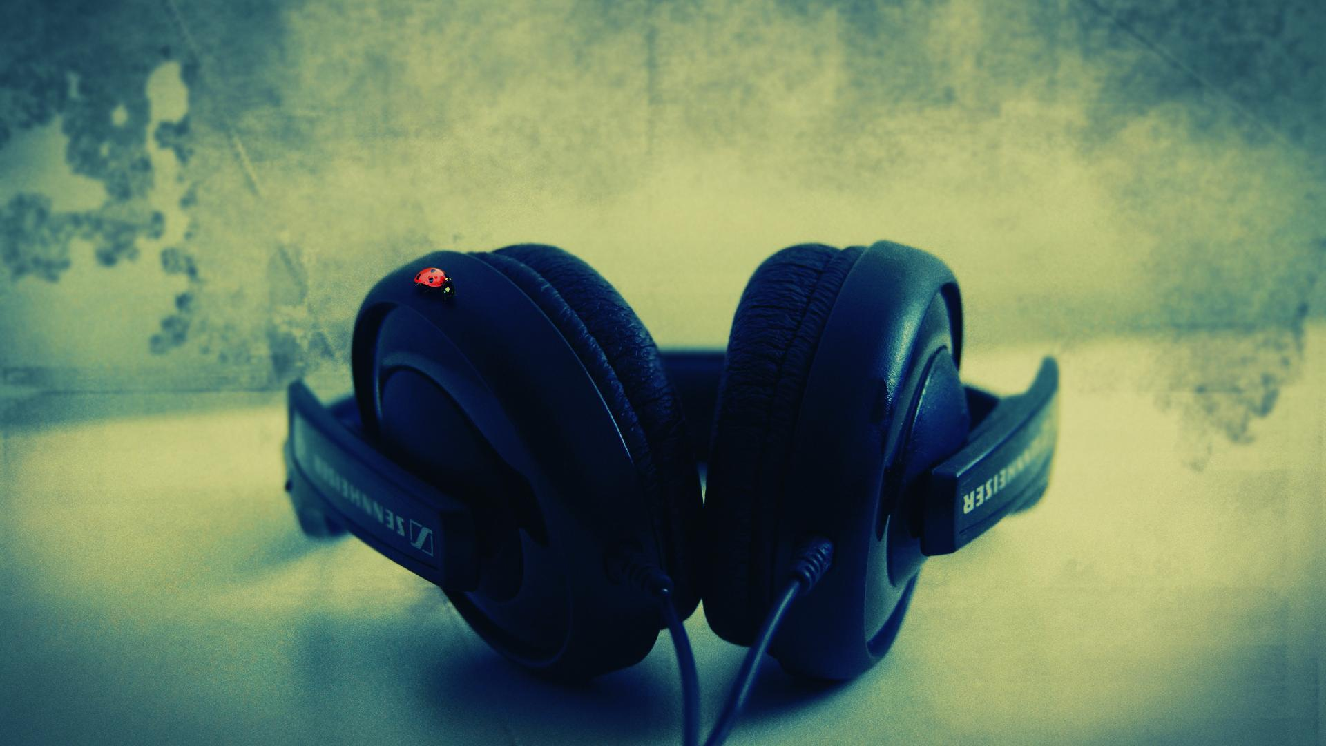 music girl wallpapers headphones - photo #30