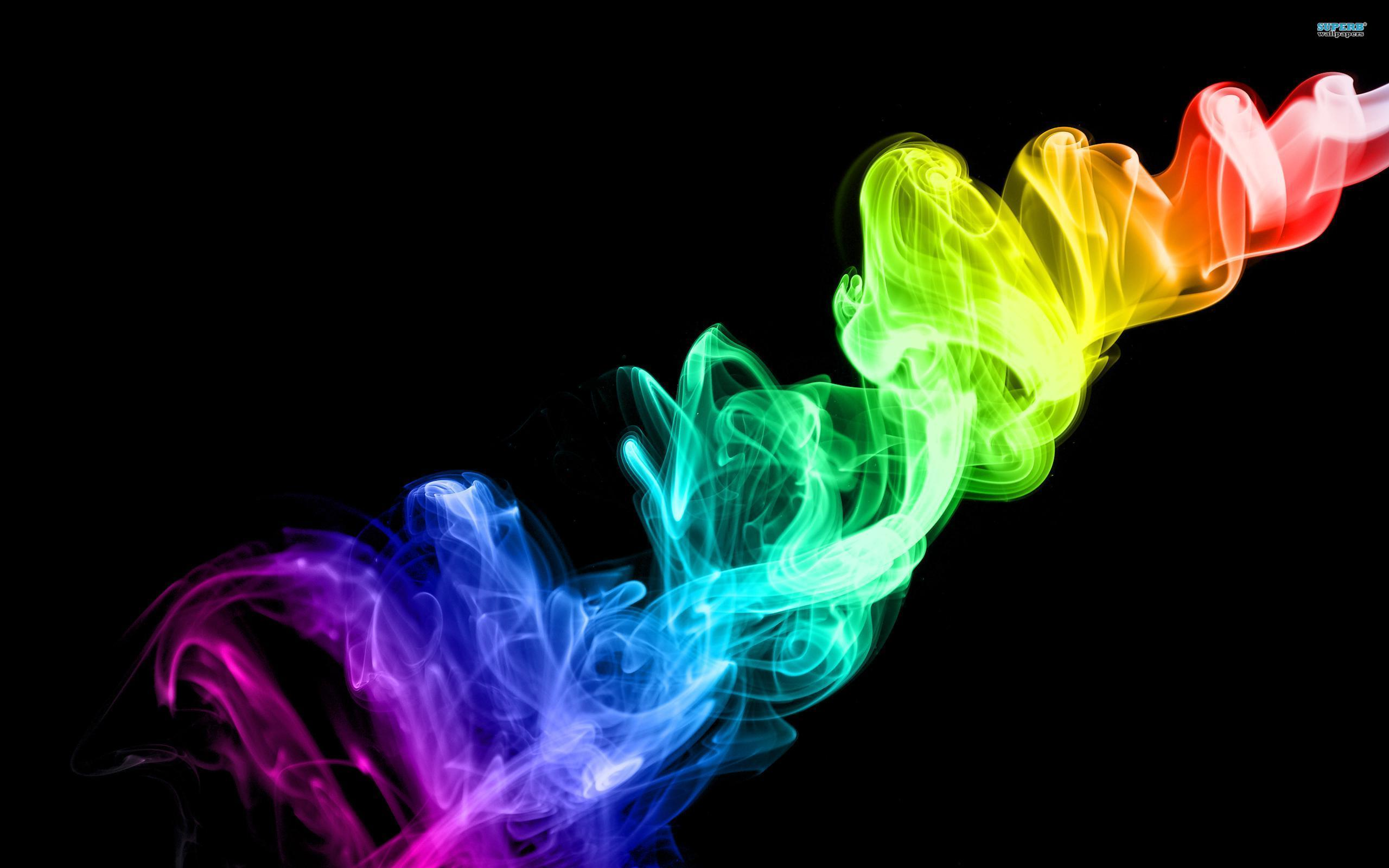 rainbow smoke wallpapers r - photo #33