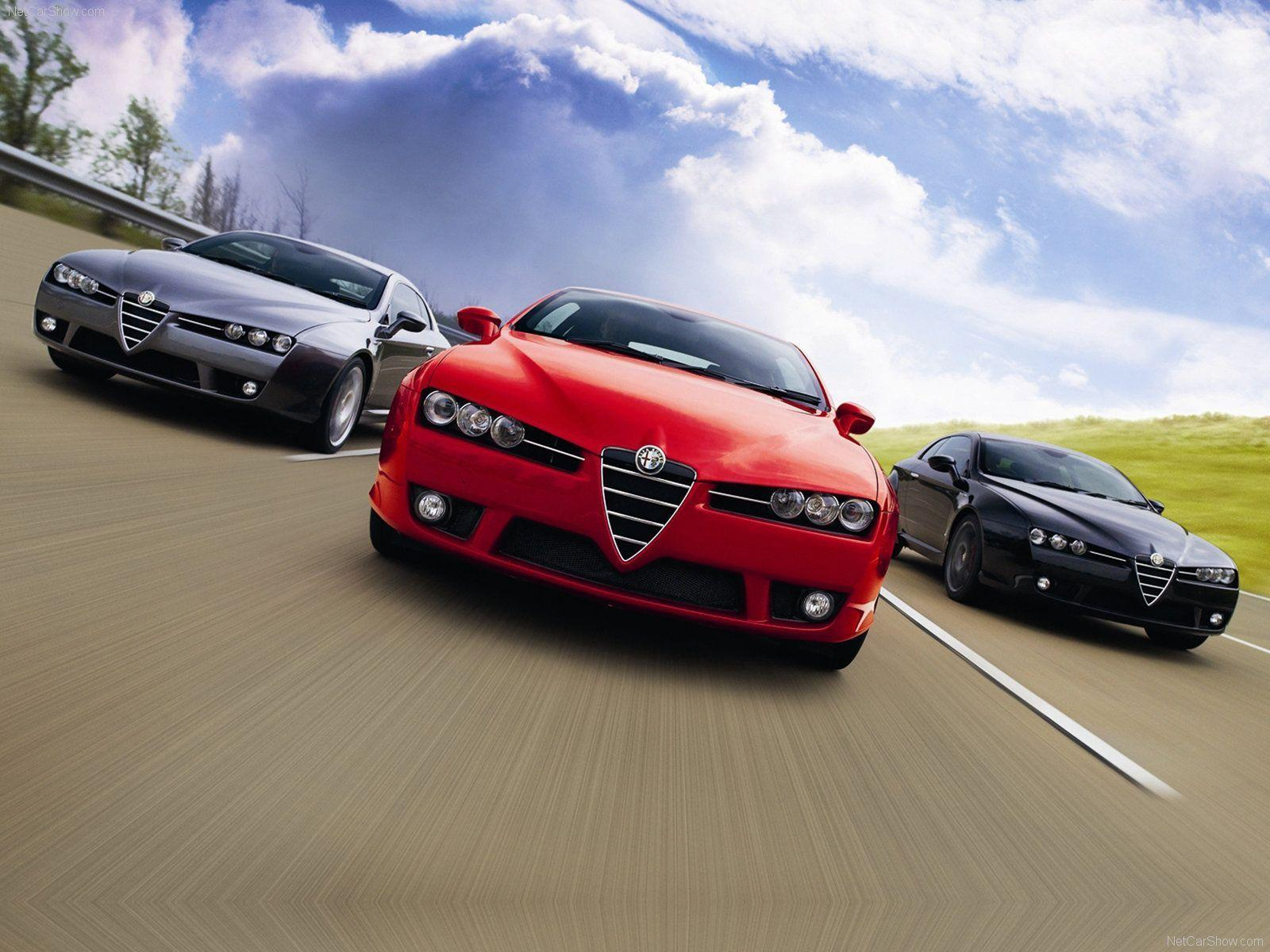 2009 Alfa Romeo Brera S Wallpapers