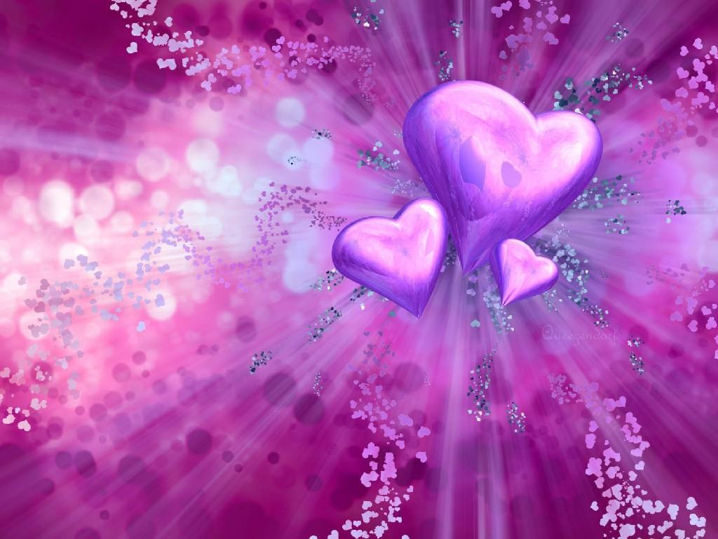 Purple Love Wallpapers Wallpaper Cave