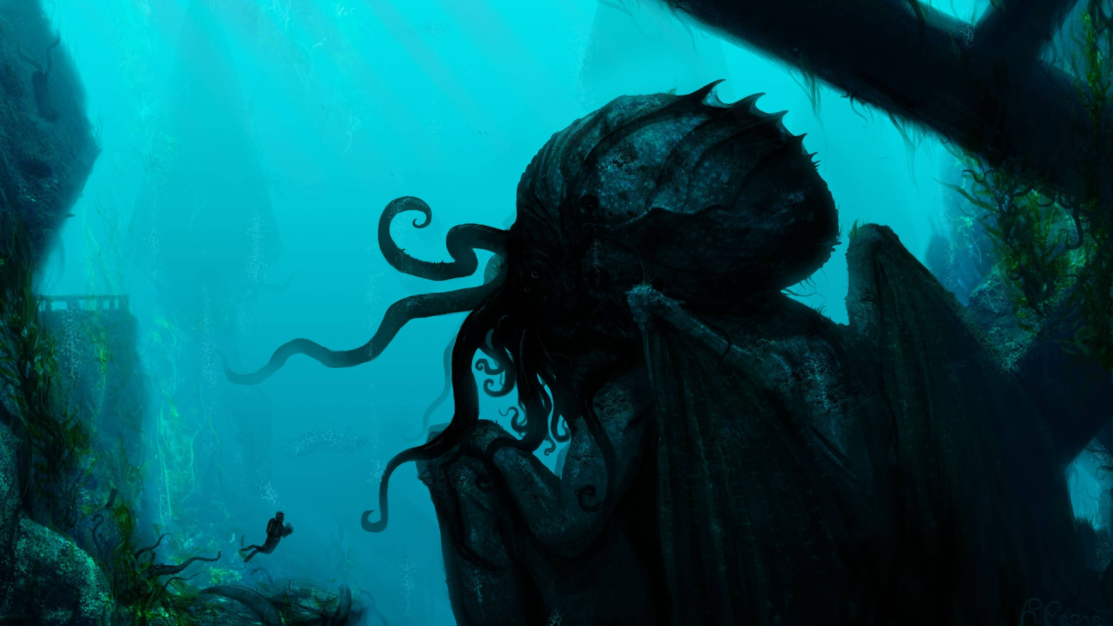 Cthulhu Computer Wallpapers, Desktop Backgrounds 3840x2160 Id: 327893
