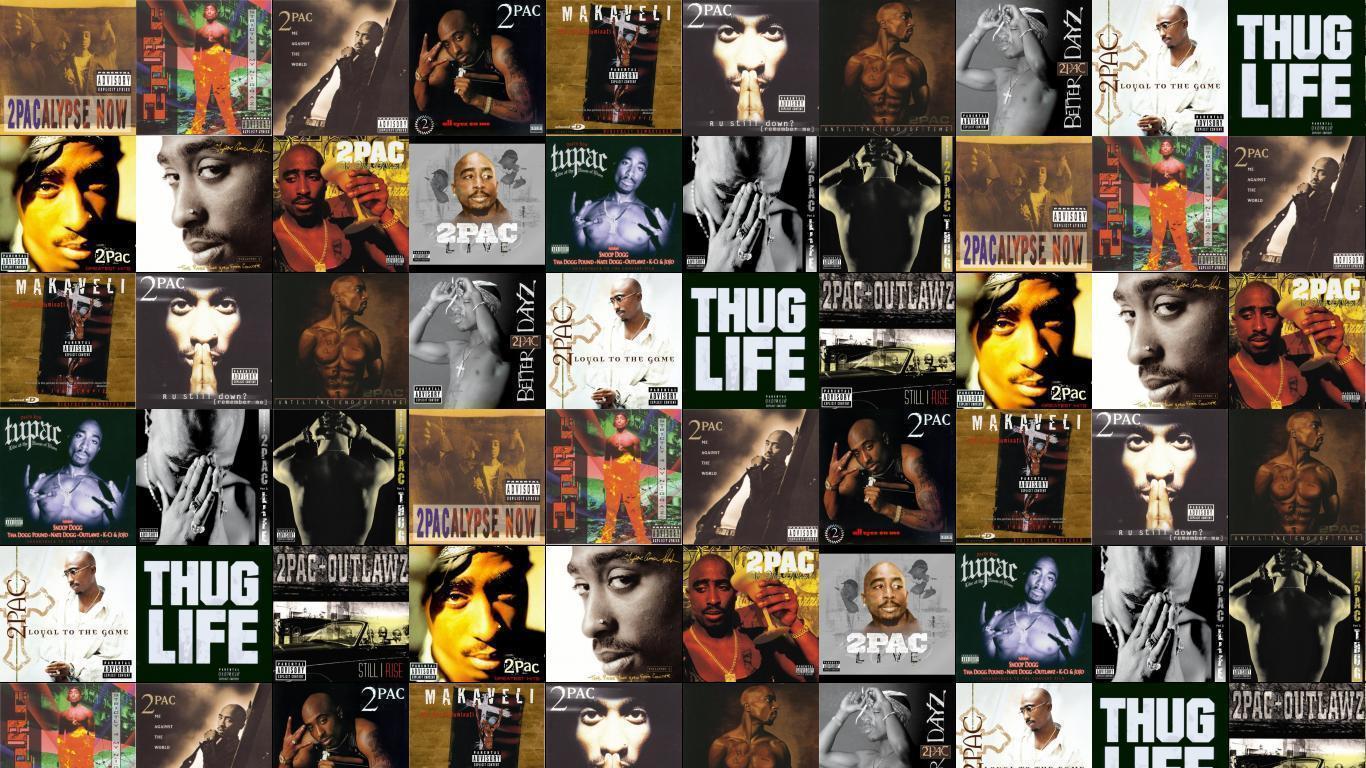 Tupac Thug Life Wallpaper
