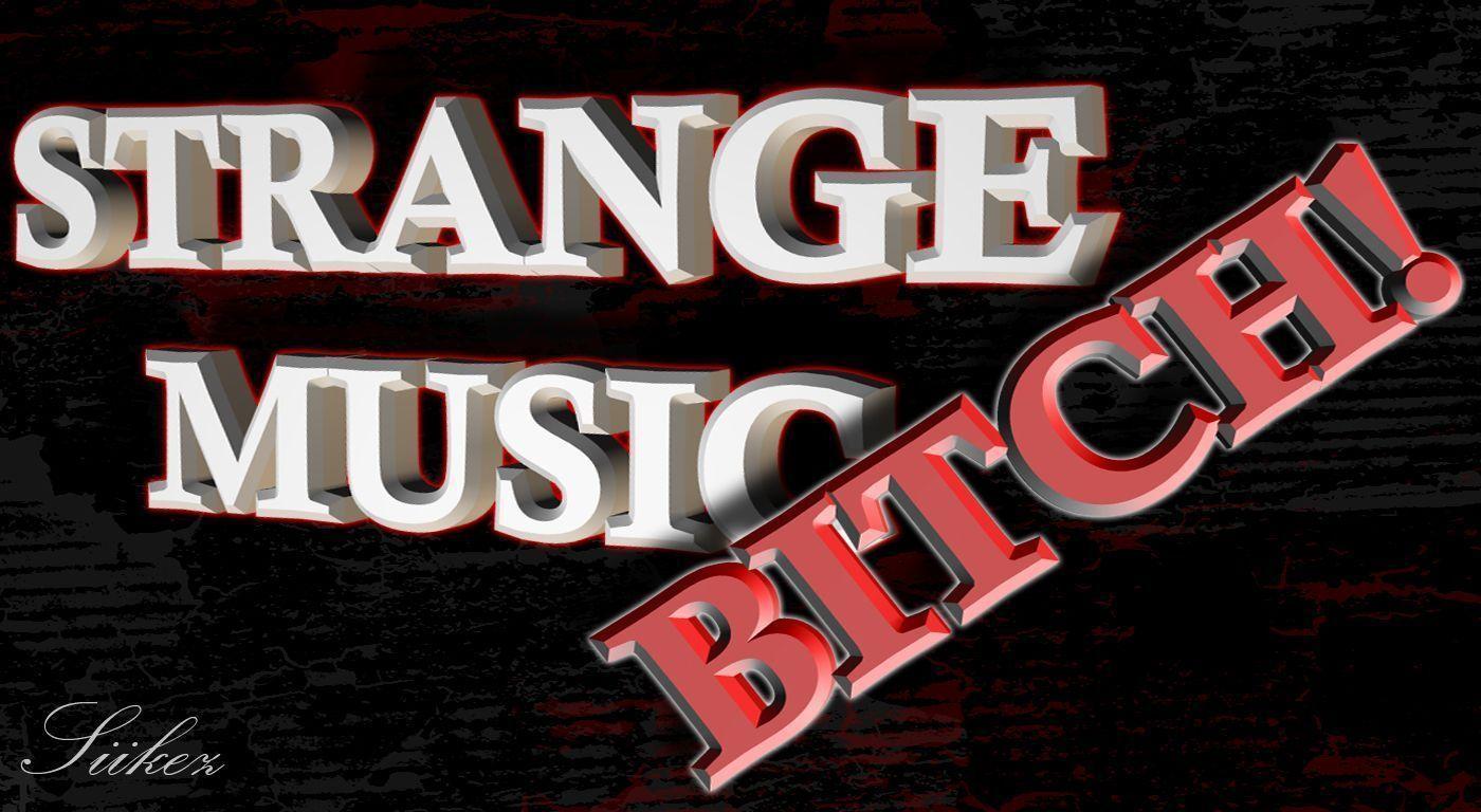 Strange Music Logo Wallpaper