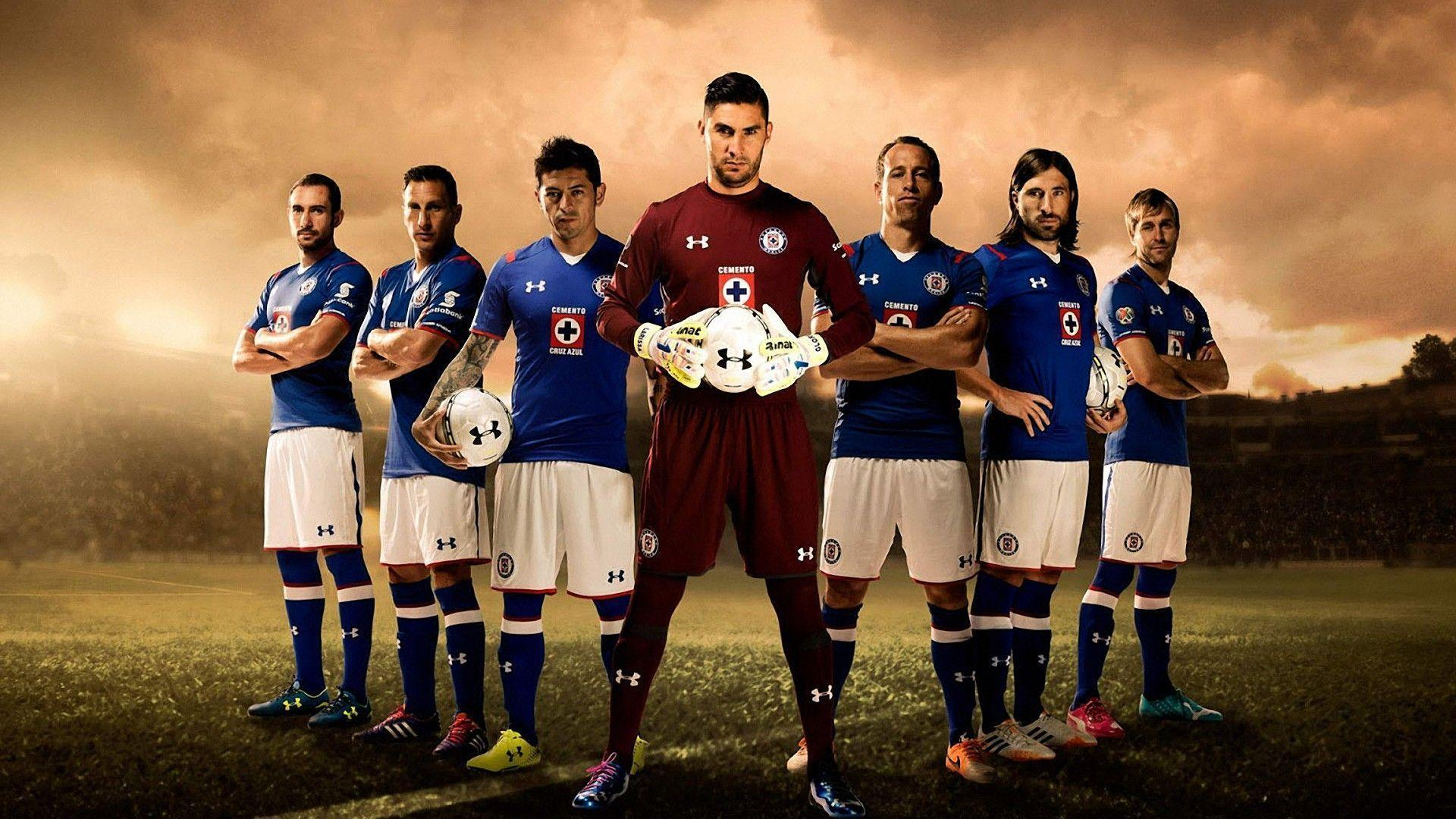 Cruz Azul 2014-15 Under Armour Kit Wallpaper Wide or HD | Sports ...