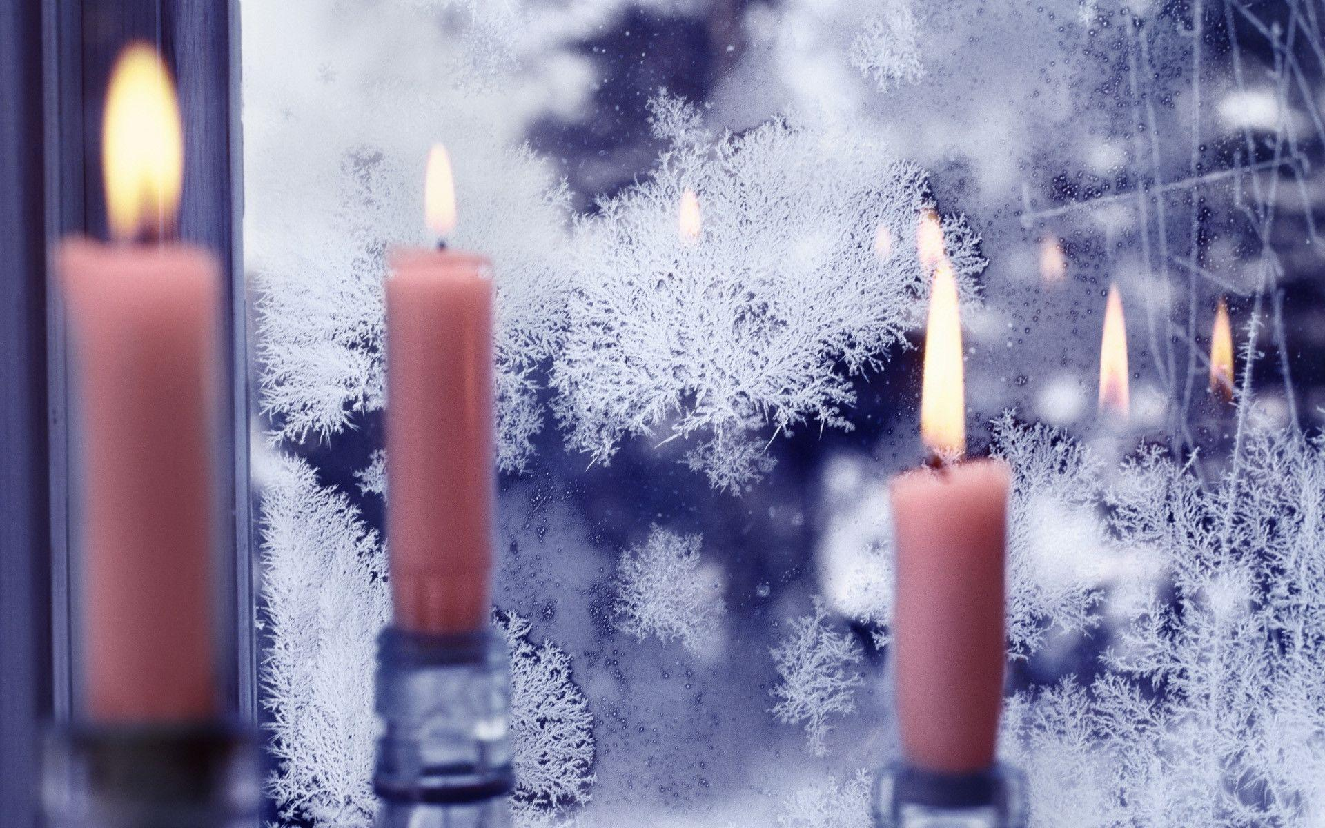 Christmas Candle Wallpapers