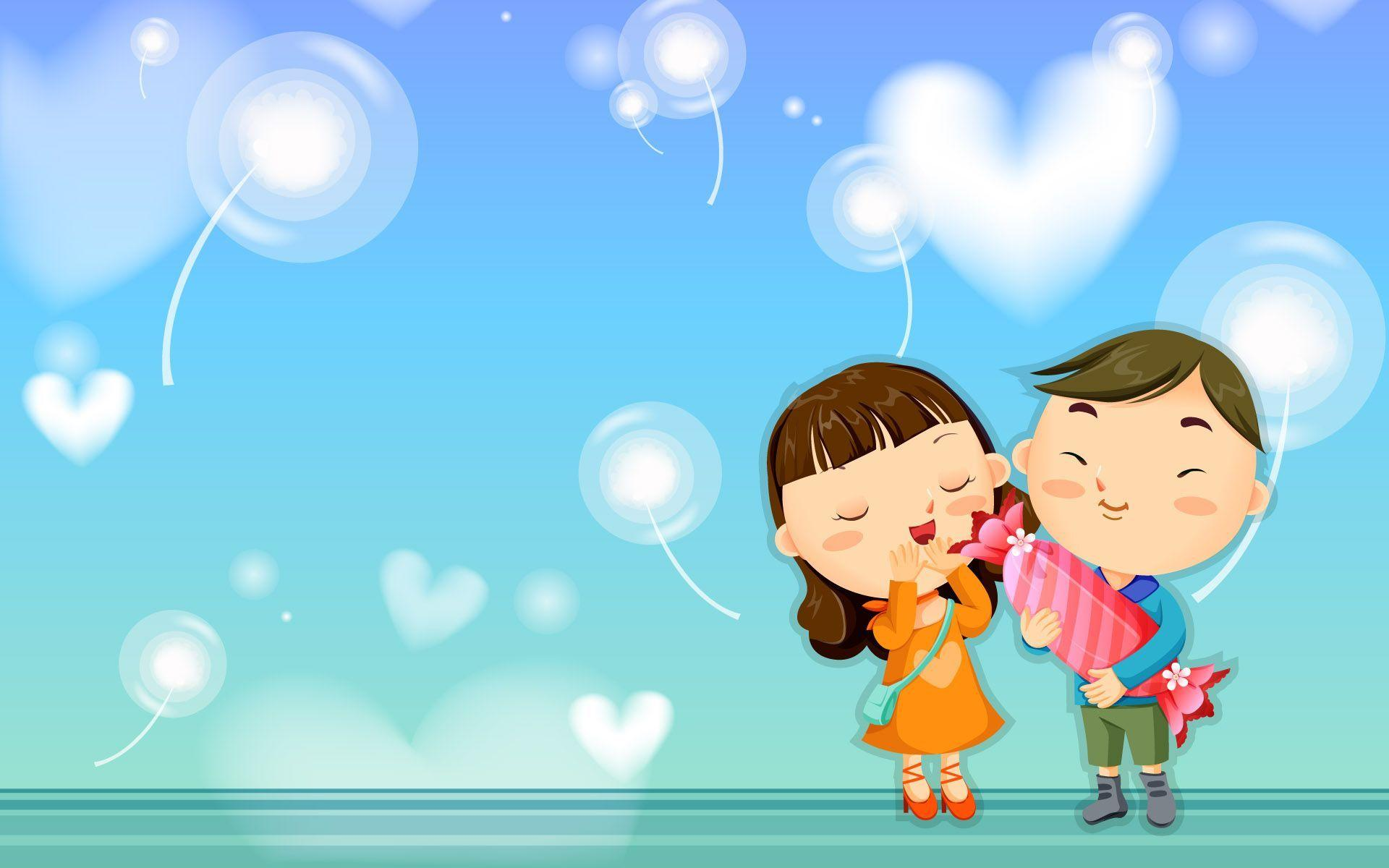 Love Boy cartoon Wallpaper : Love cartoon Wallpapers - Wallpaper cave