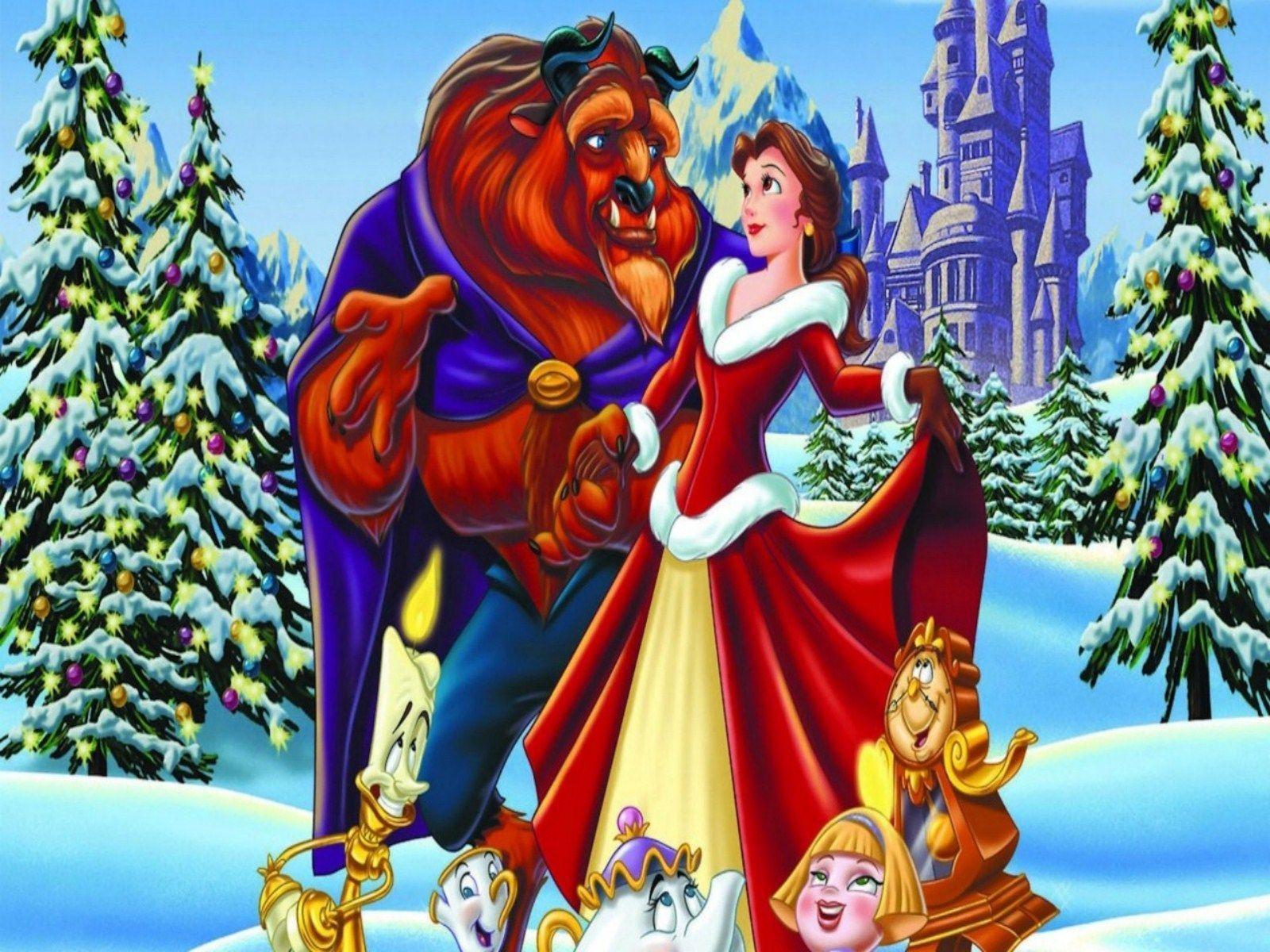 Disney Christmas Wallpapers Desktop - Wallpaper Cave