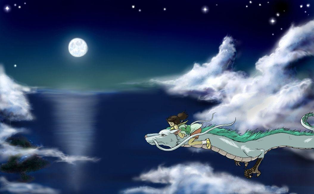 Spirited Away Backgrounds