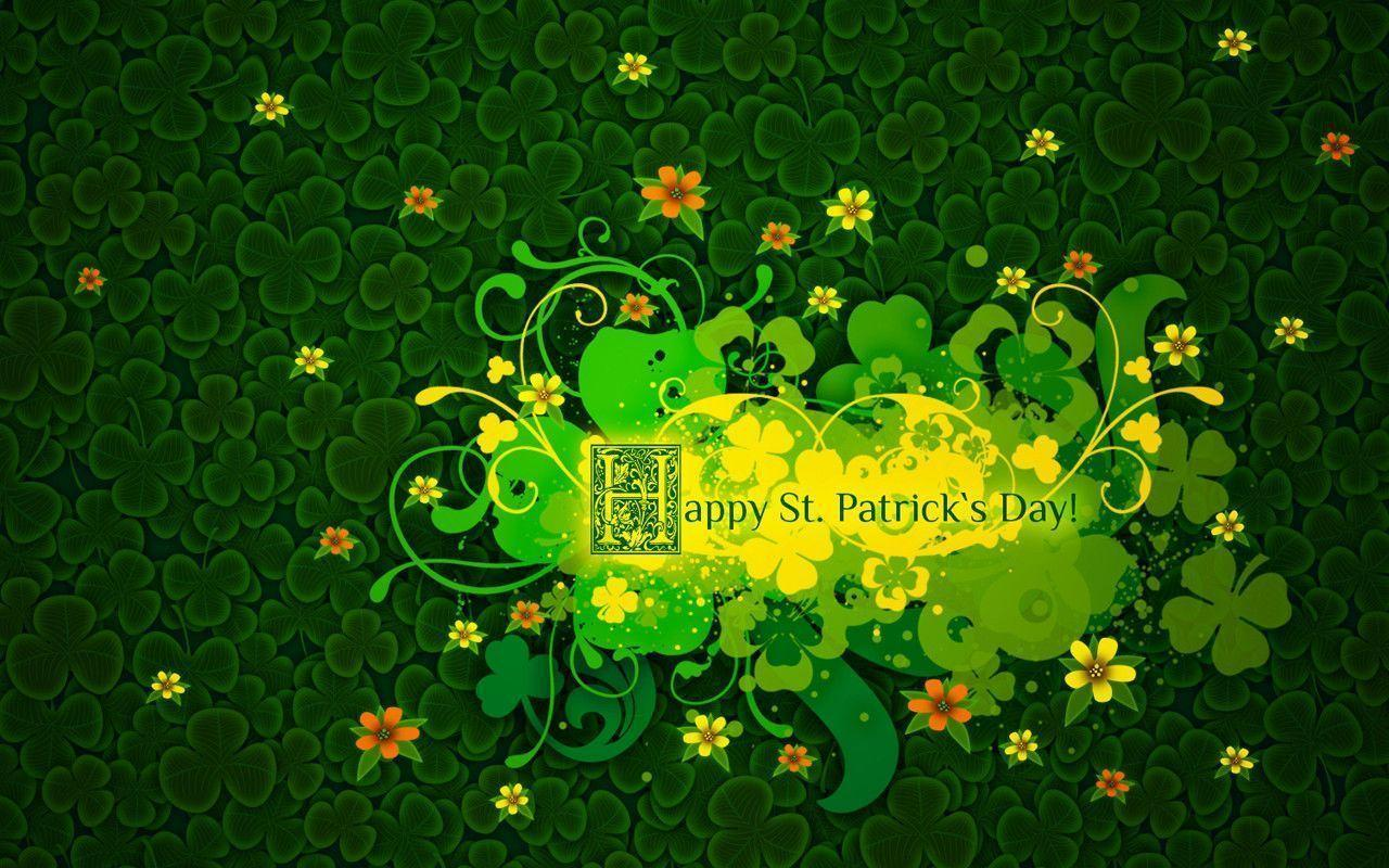 simple st patrick wallpaper - photo #10