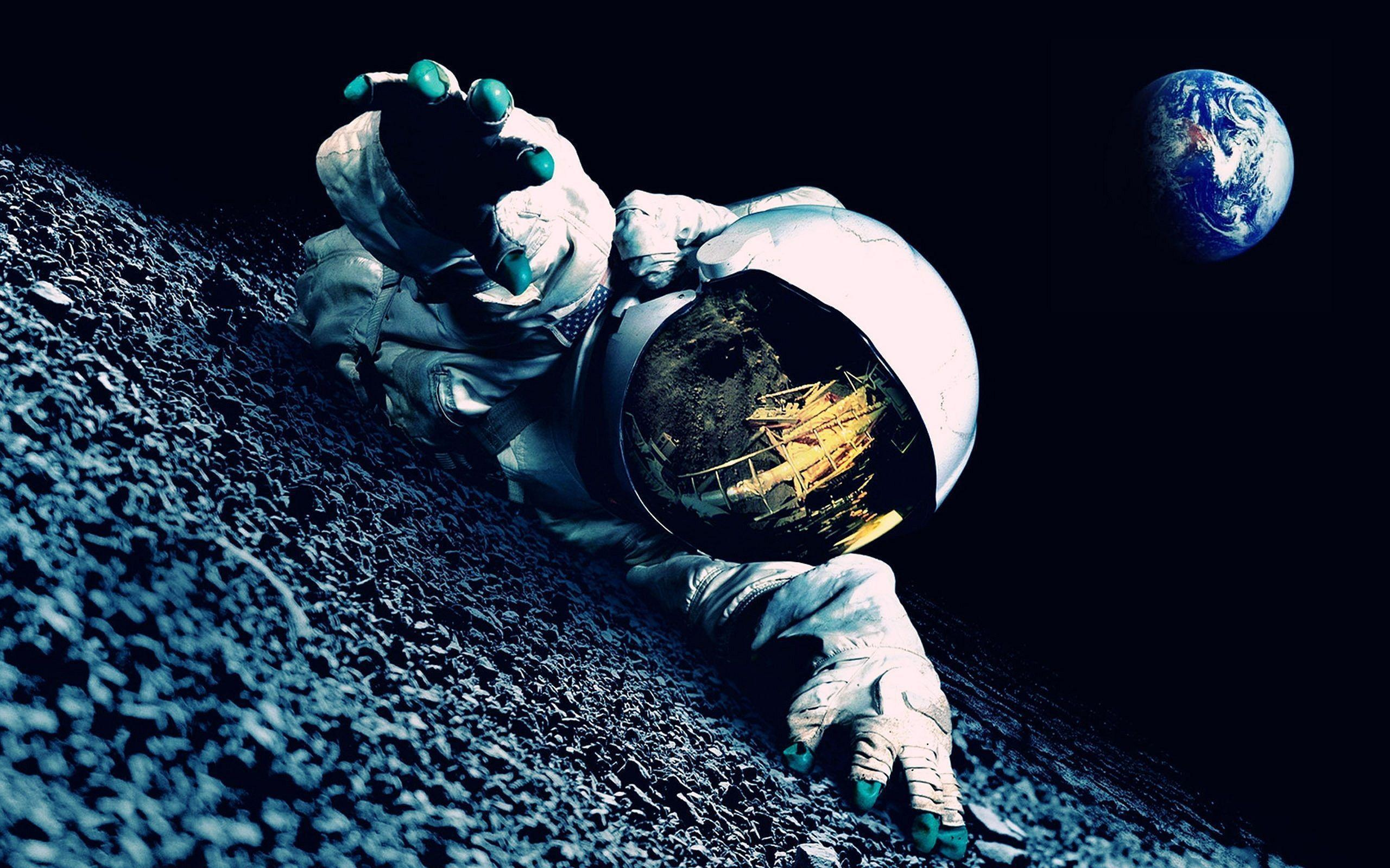 Astronaut wallpapers wallpaper cave for Espacio exterior 4k