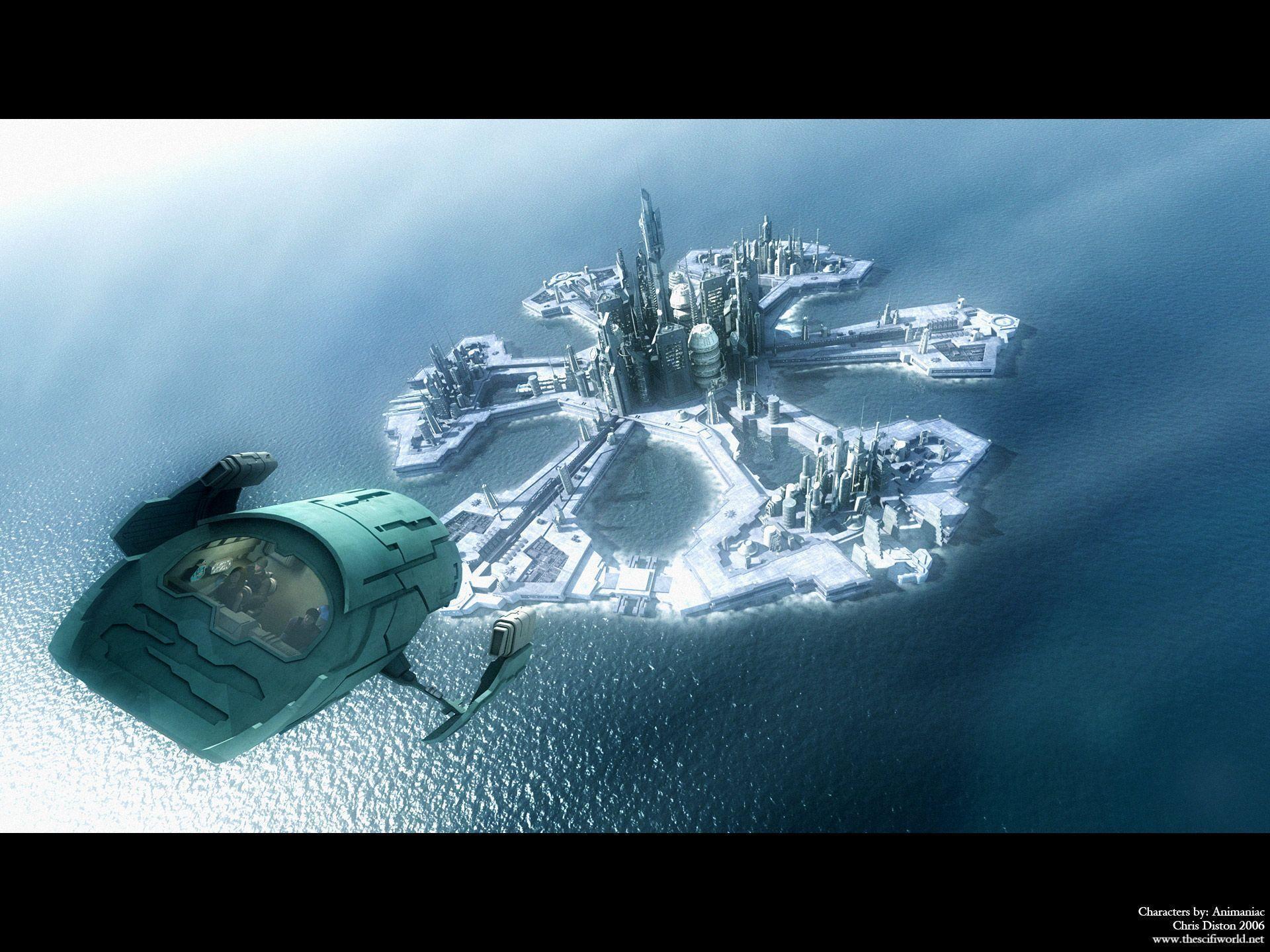 STARGATE wallpaper wallpapers Stargate SG-1 Stargate Atlantis 3D