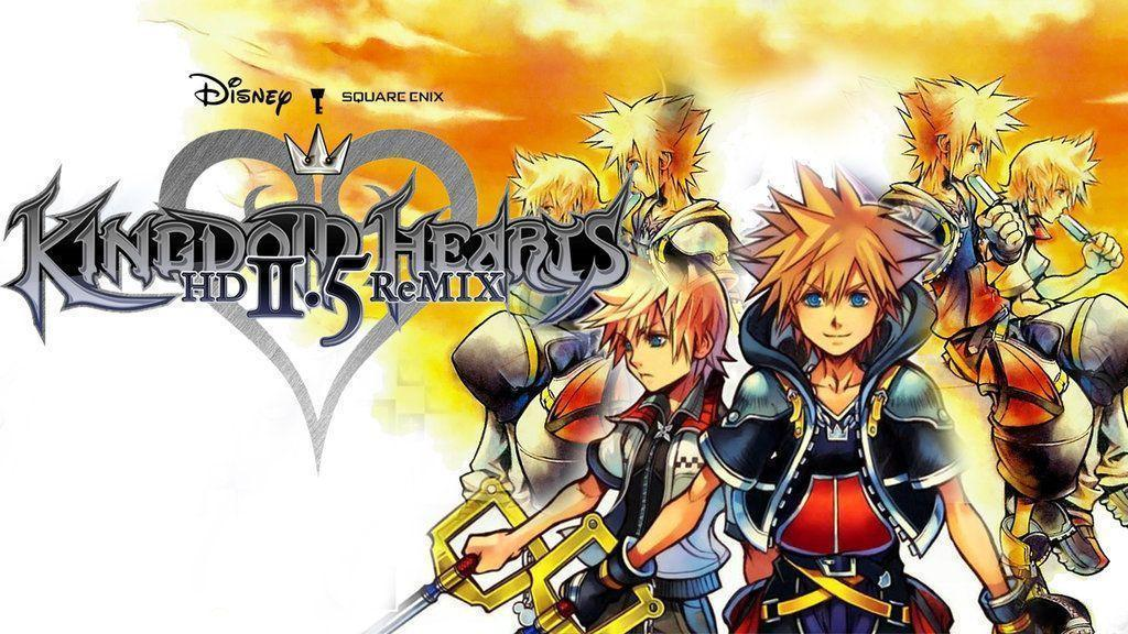 Kingdom Hearts 2.5 HD ReMix Wallpapers 2 by davidsobo