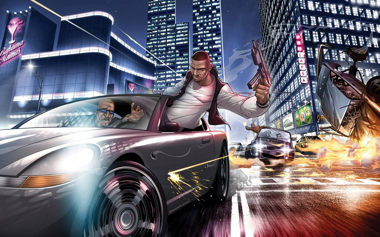 Gta Iv Wallpaper  Grand Theft Auto Wallpaper