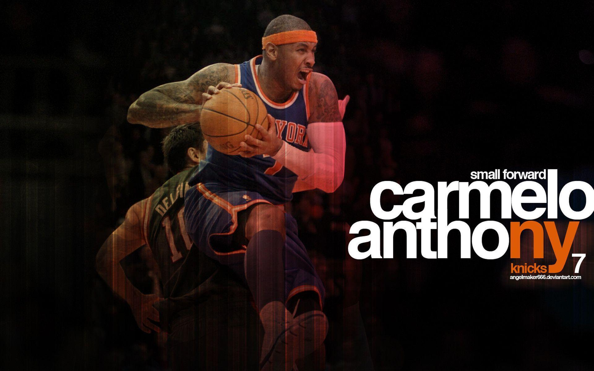 Carmelo Anthony Wallpapers Knicks - Wallpaper Cave