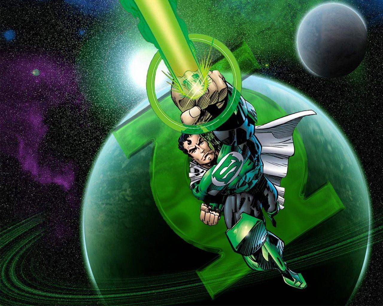 Green Lantern Desktop Wallpapers