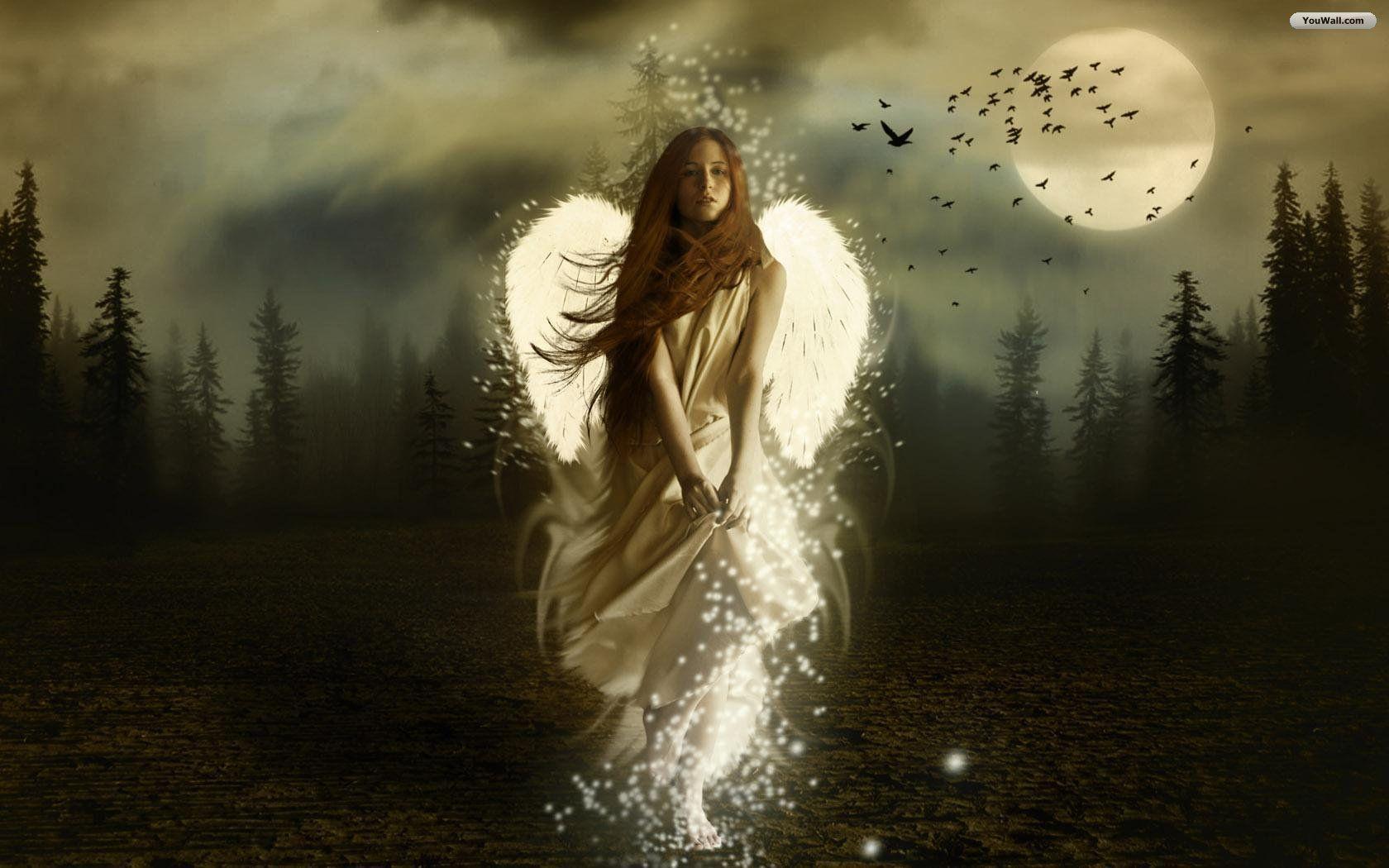 free wallpaper for desktop of angels - www.