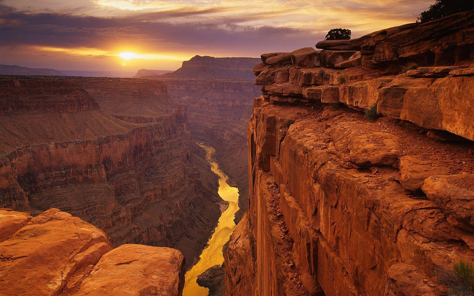 Grand Canyon Sunset Free Wallpaper Stock Photo #5313 Wallpaper ...