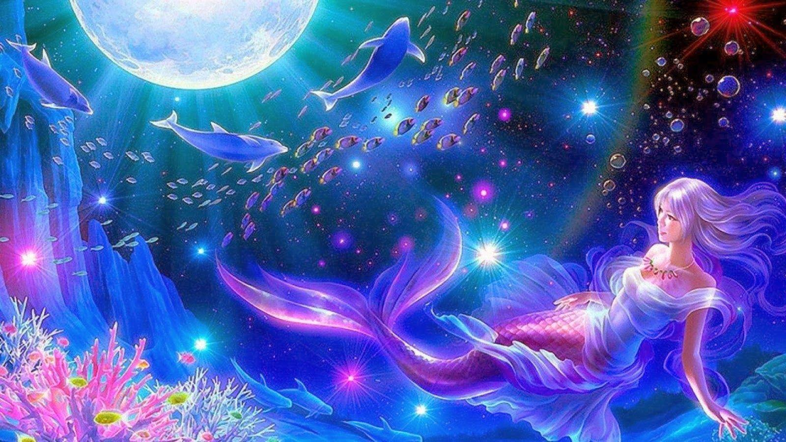 mermaid wallpapers wallpaper cave
